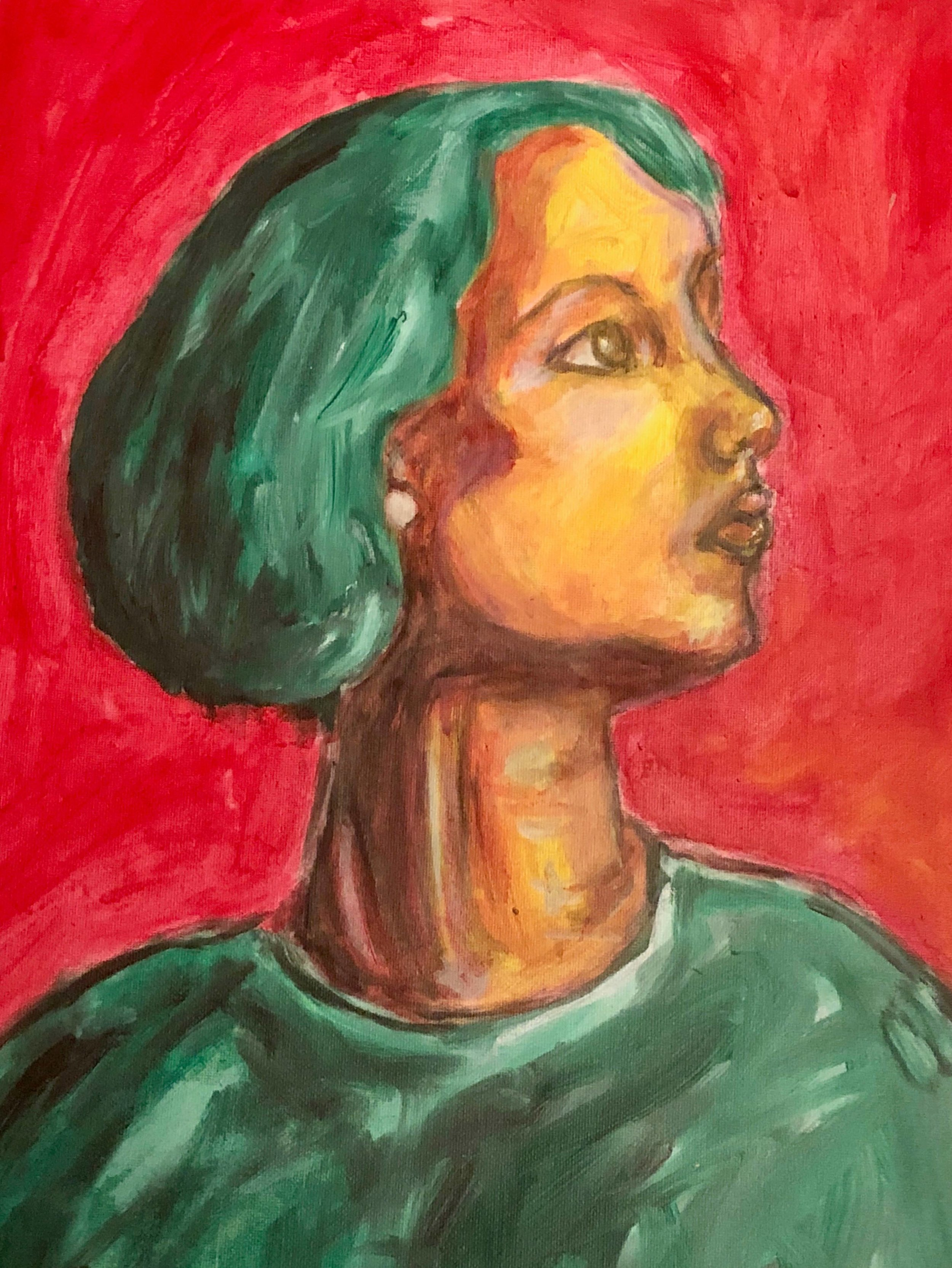 Portrait of me by Richard Greene