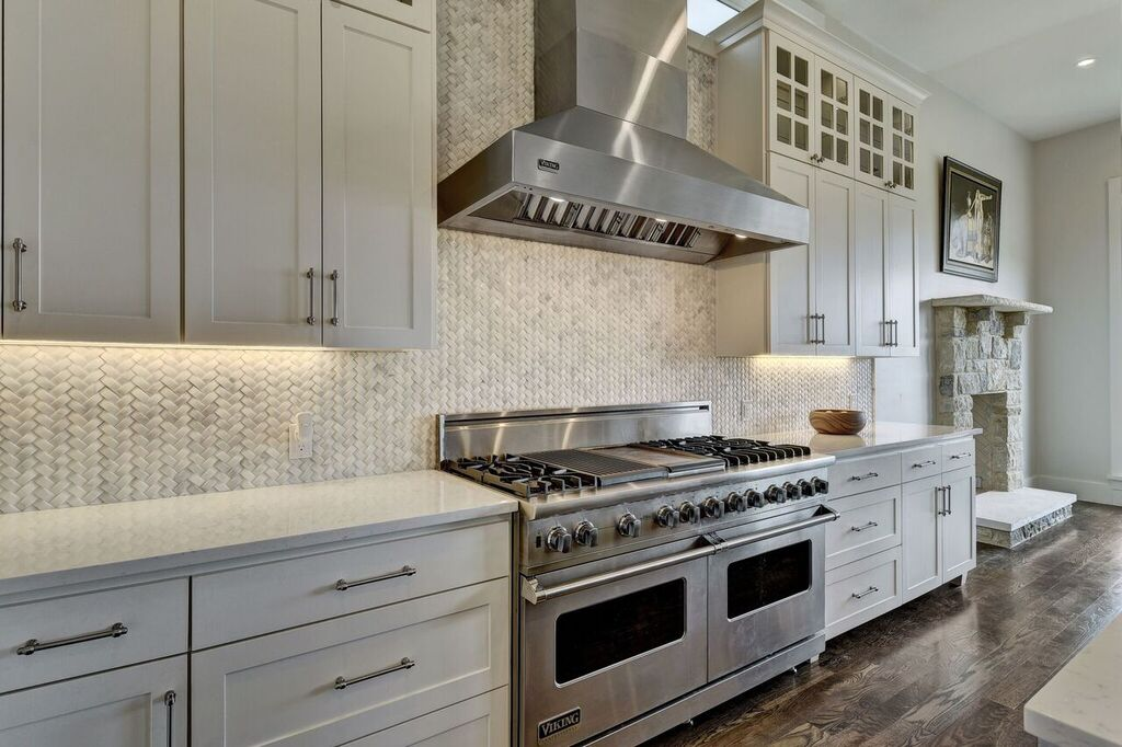 Mosaic Tile Kitchen Backsplash