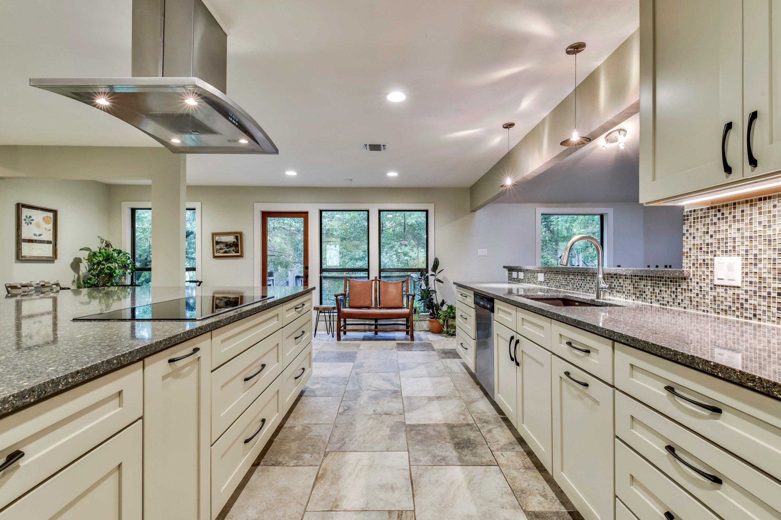 Kitchen Design Remodel with Granite Countertops