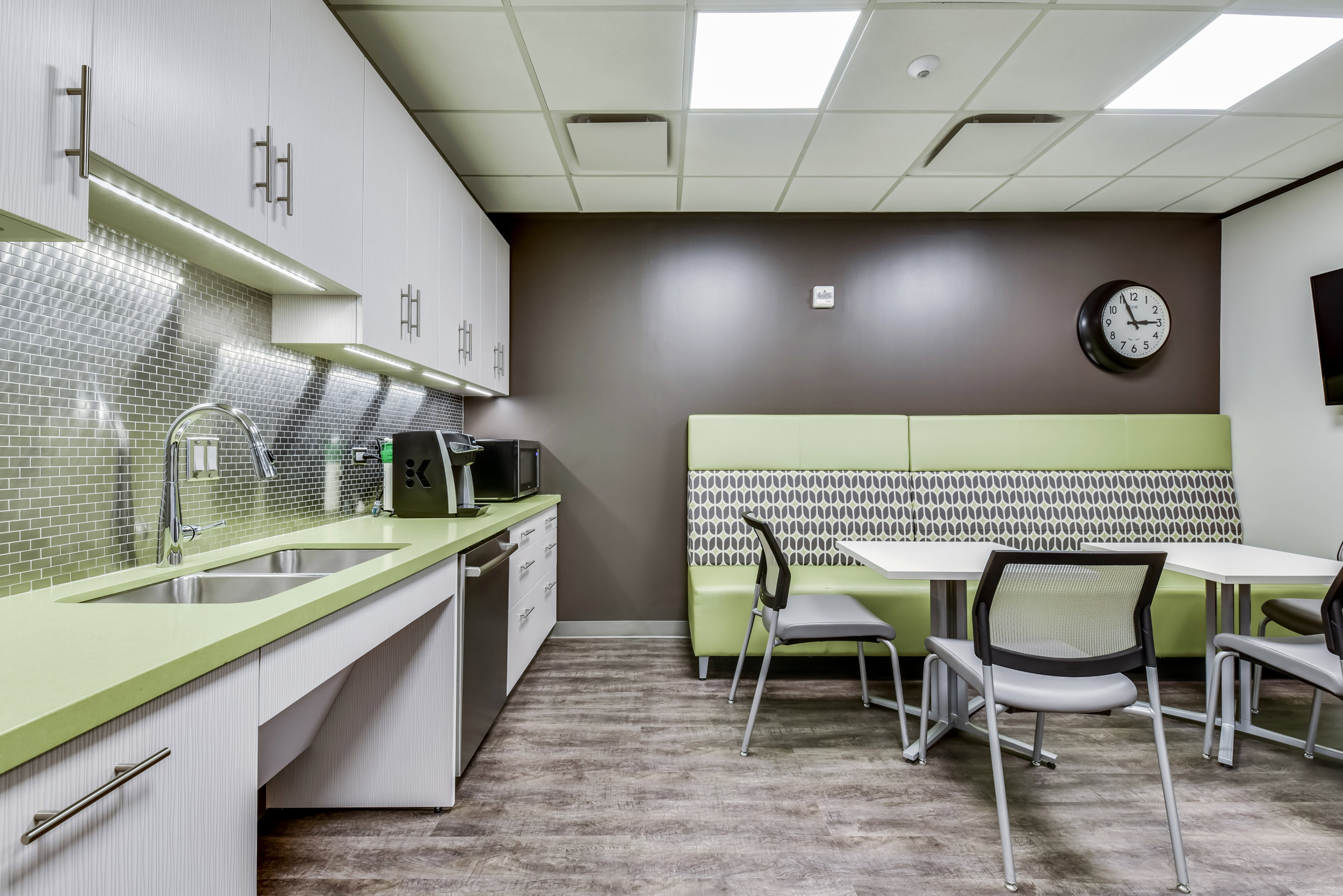 Commercial Office Kitchen Design Austin