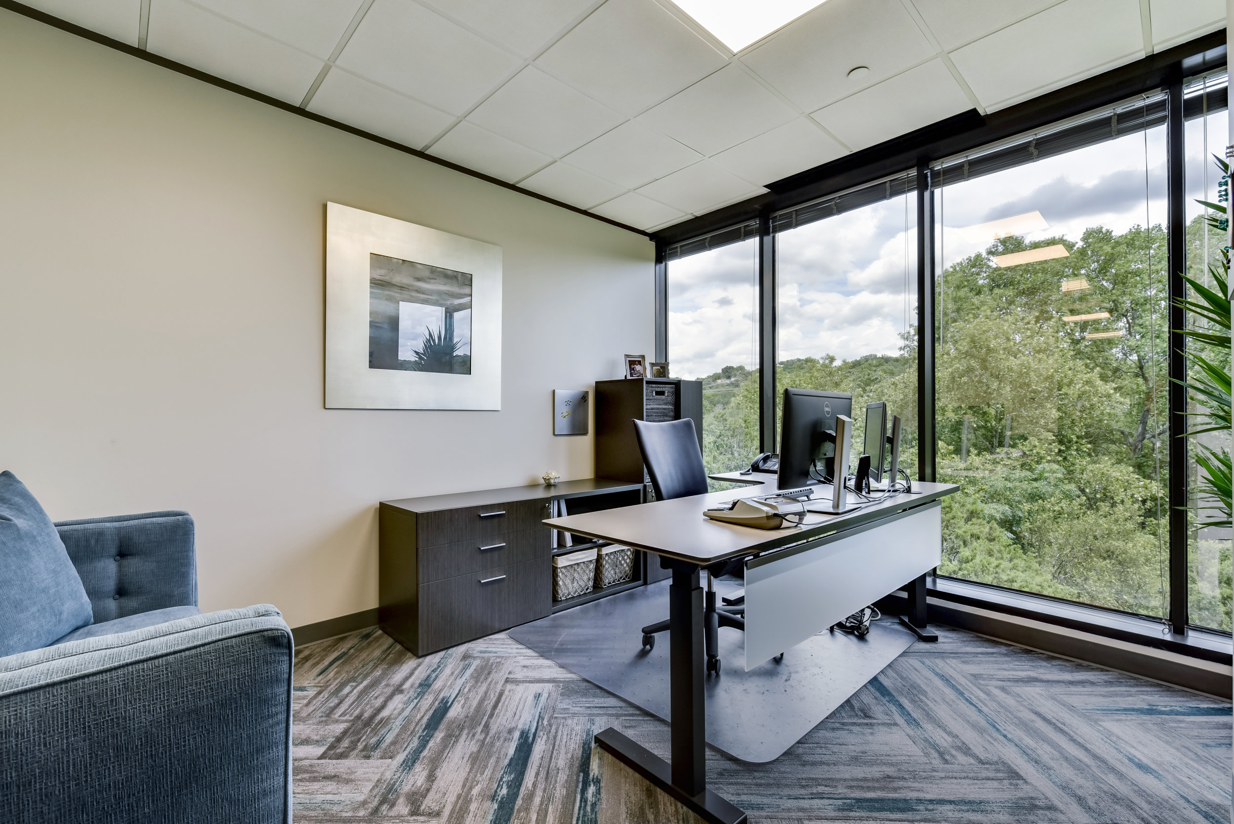Modern Office Interior Design Austin Texas