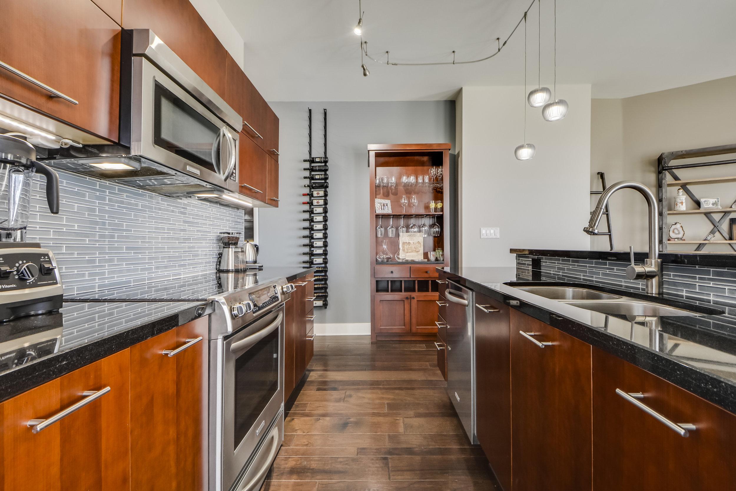 Transitional Kitchen Interior Design Austin