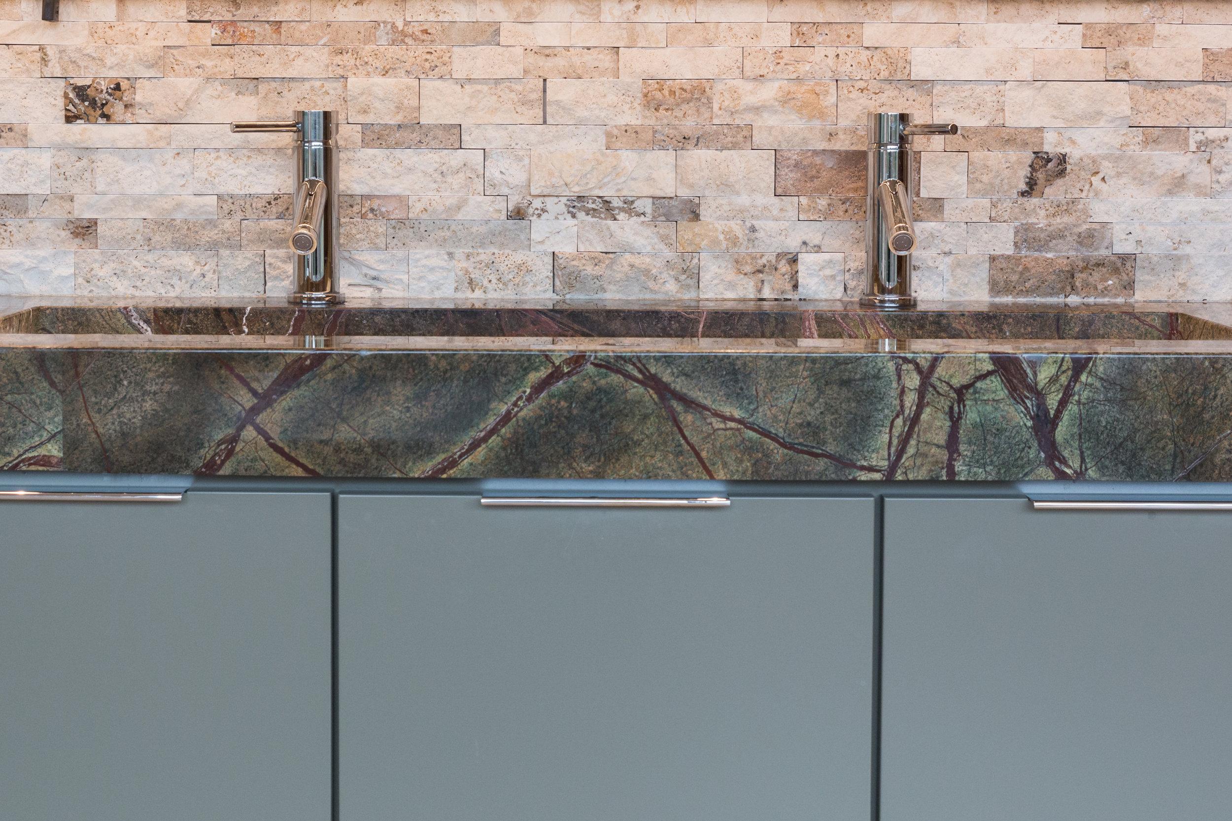 Modern Bathroom Countertop Design