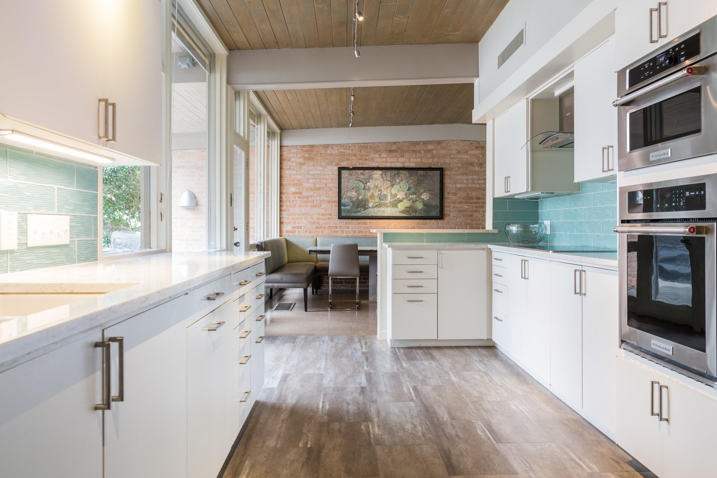 Mid-Century Kitchen Austin