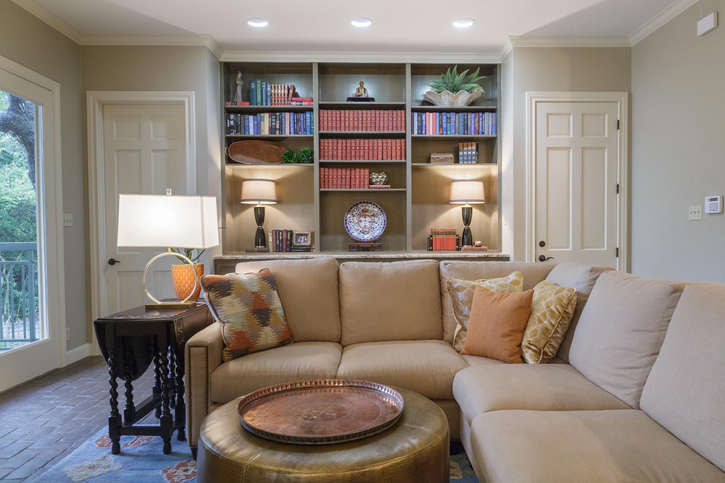 Westlake Austin Living Room Design