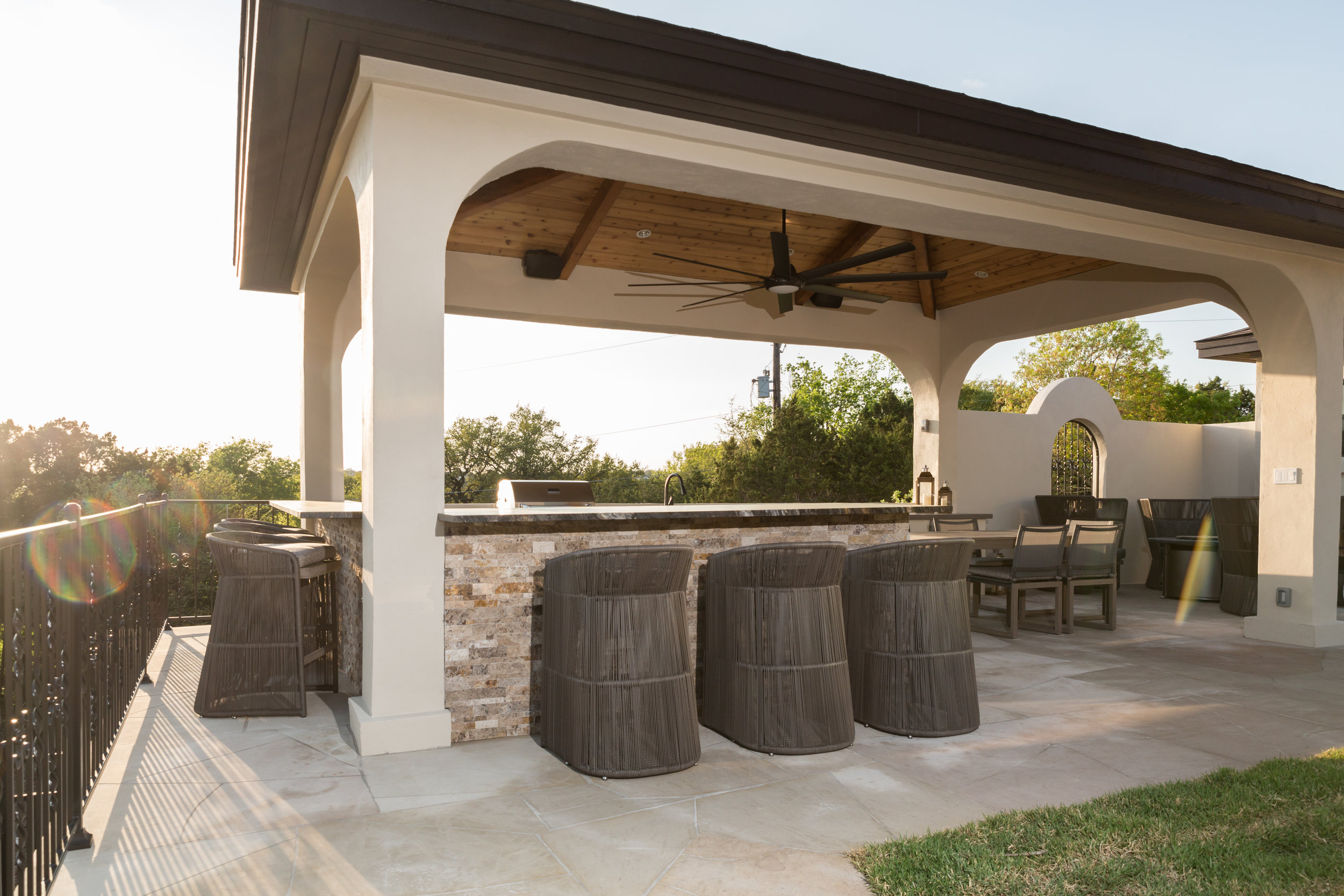Hill Country Cabana Design