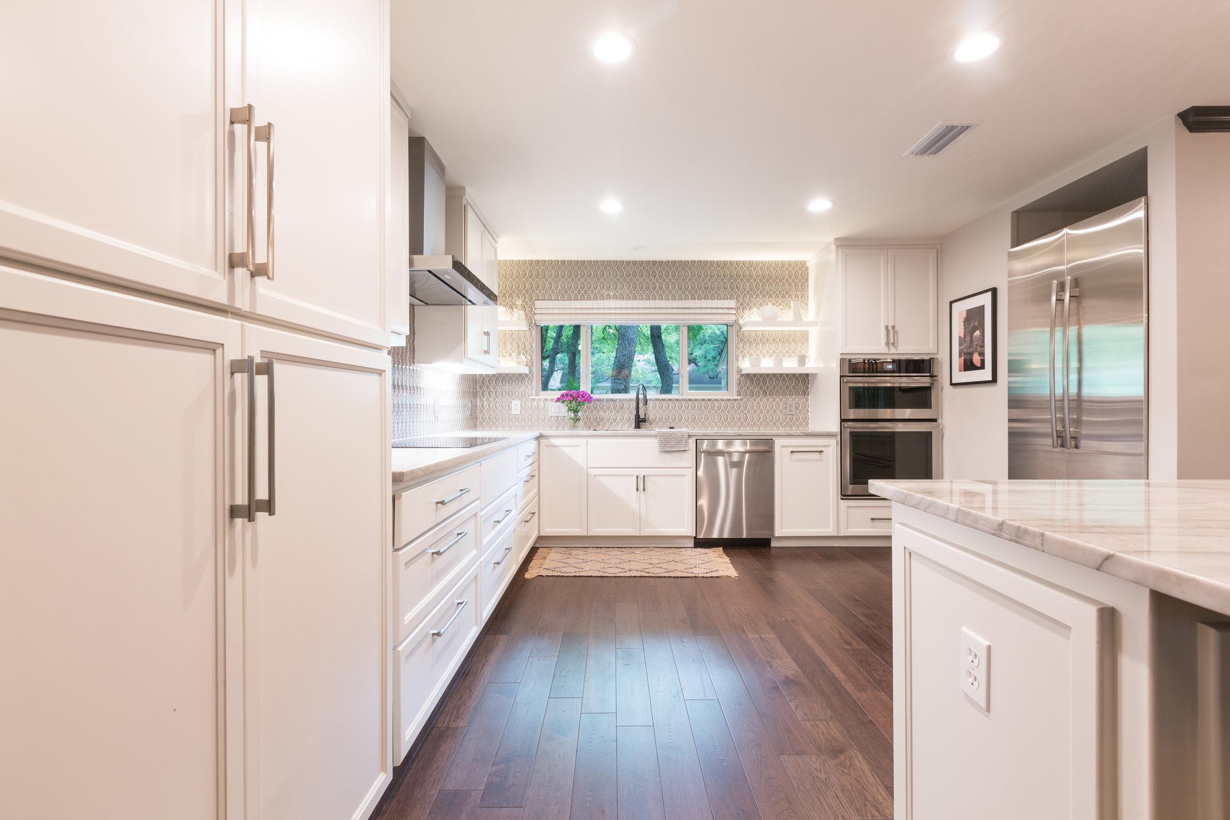 Complete condo kitchen remodel austin