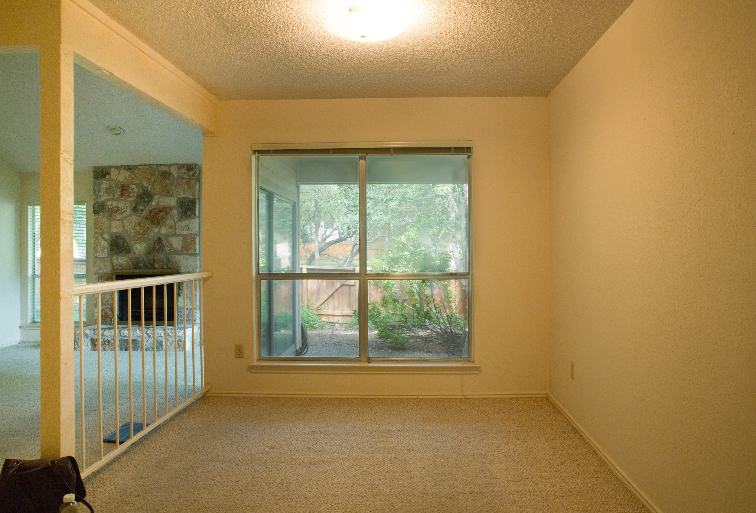 Ugly Dining Room Before Home Renovation