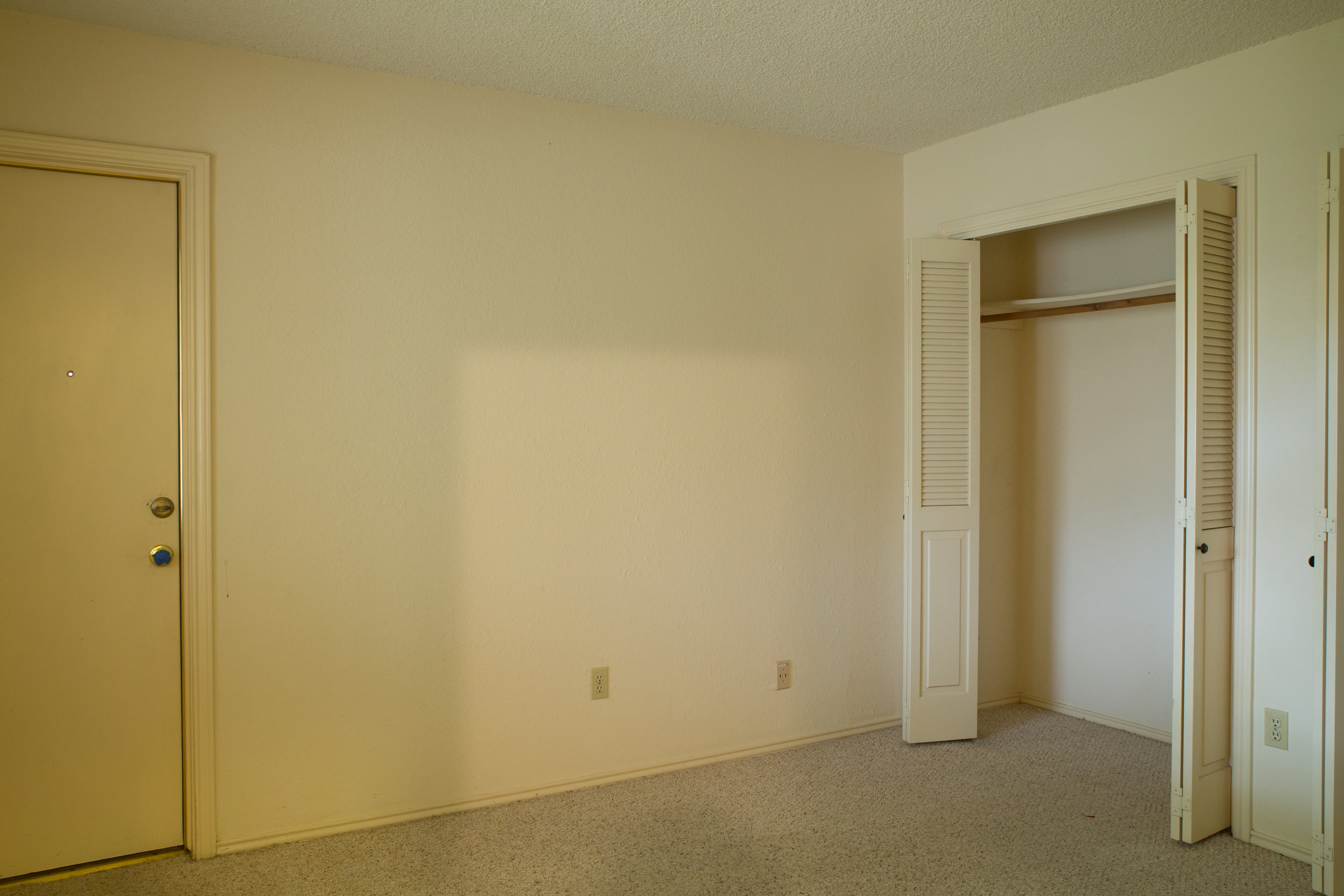 Central Austin Guest Bedroom Before Photo