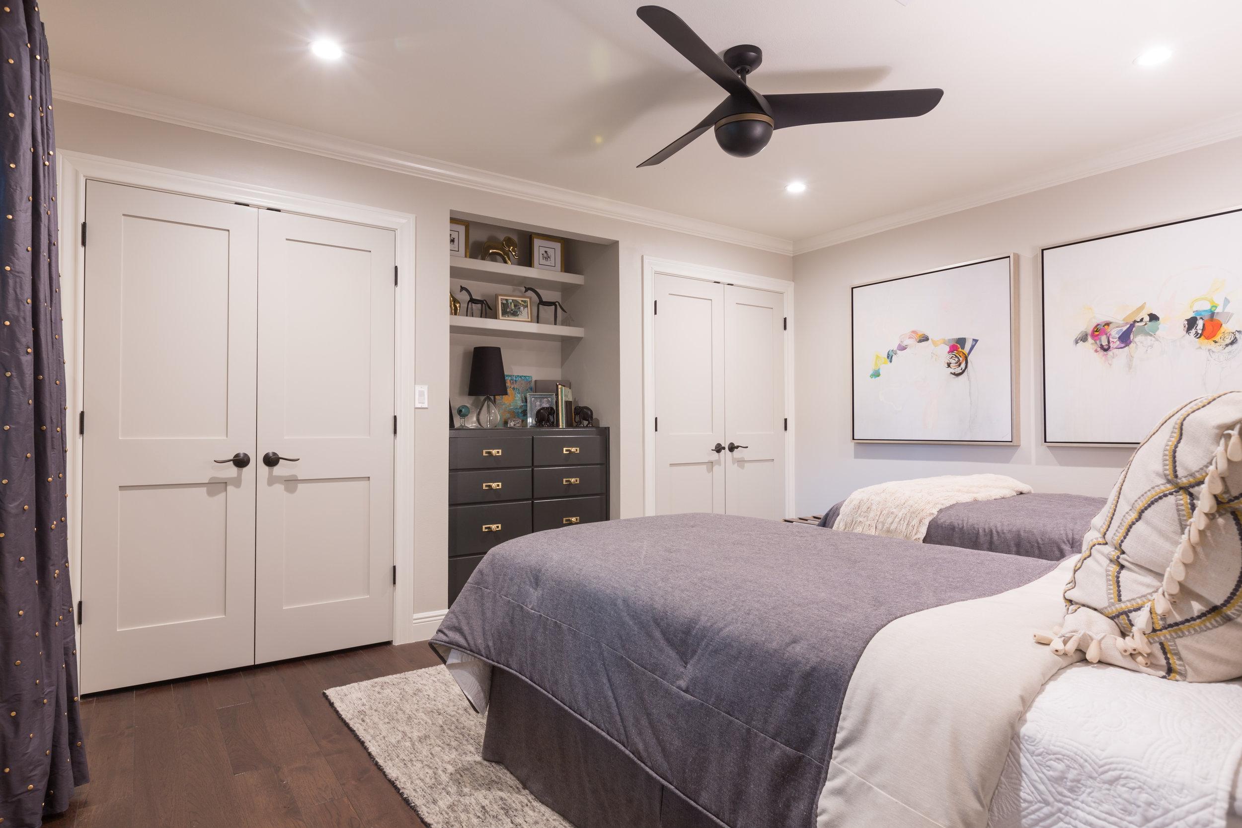 Central Austin Guest Bedroom Design