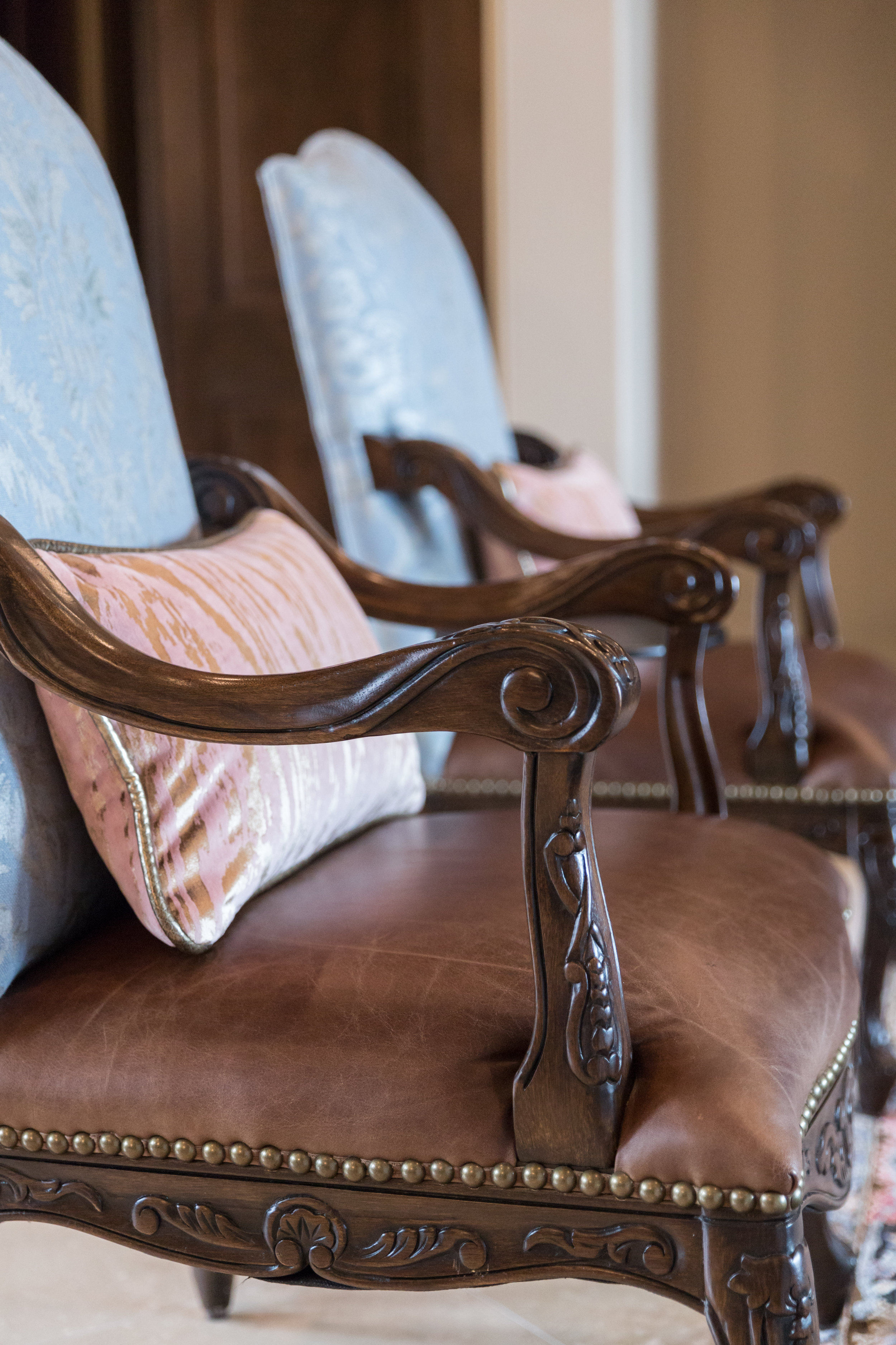 Newly Reupholstered Chairs