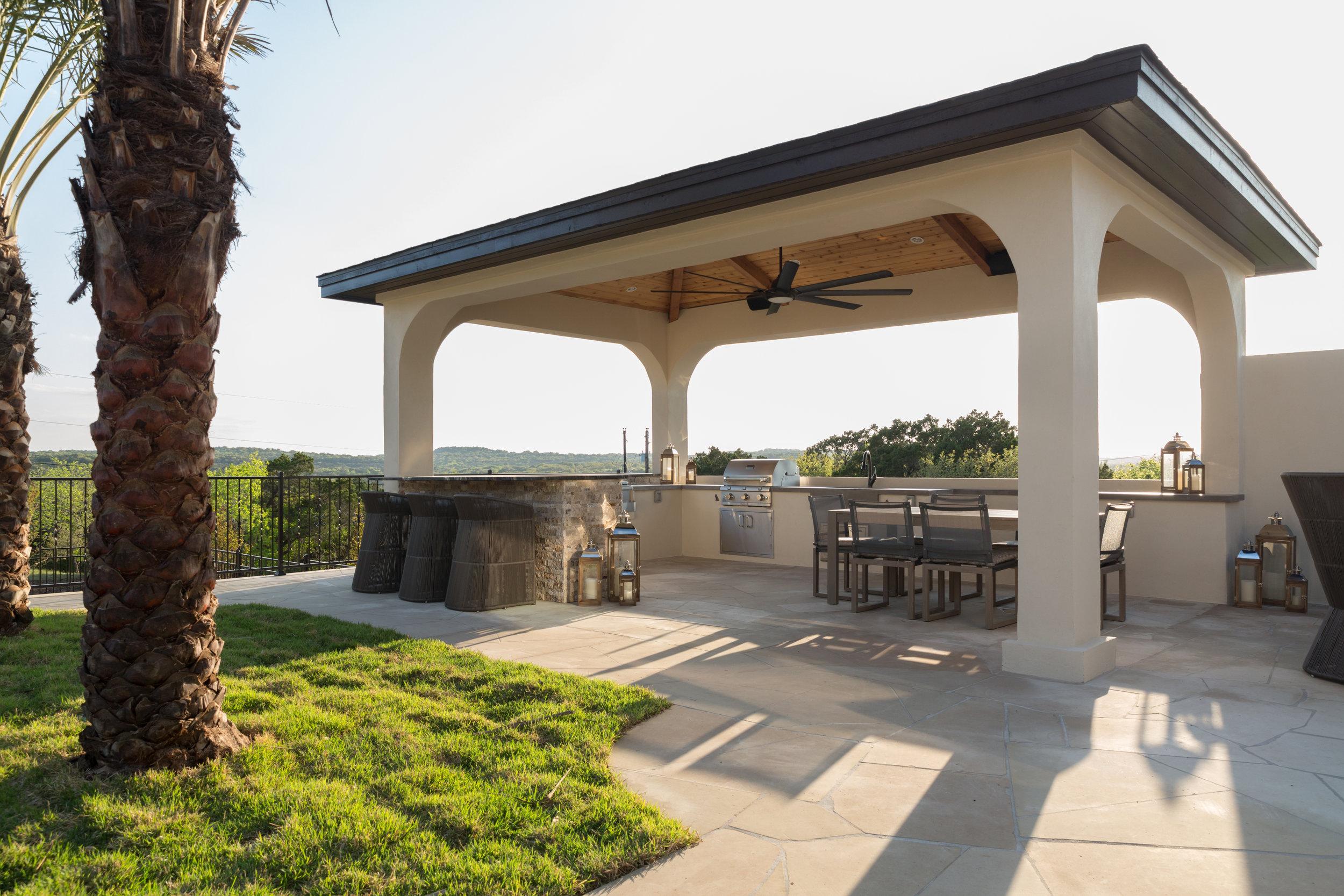 Cabana Bar and Large Table