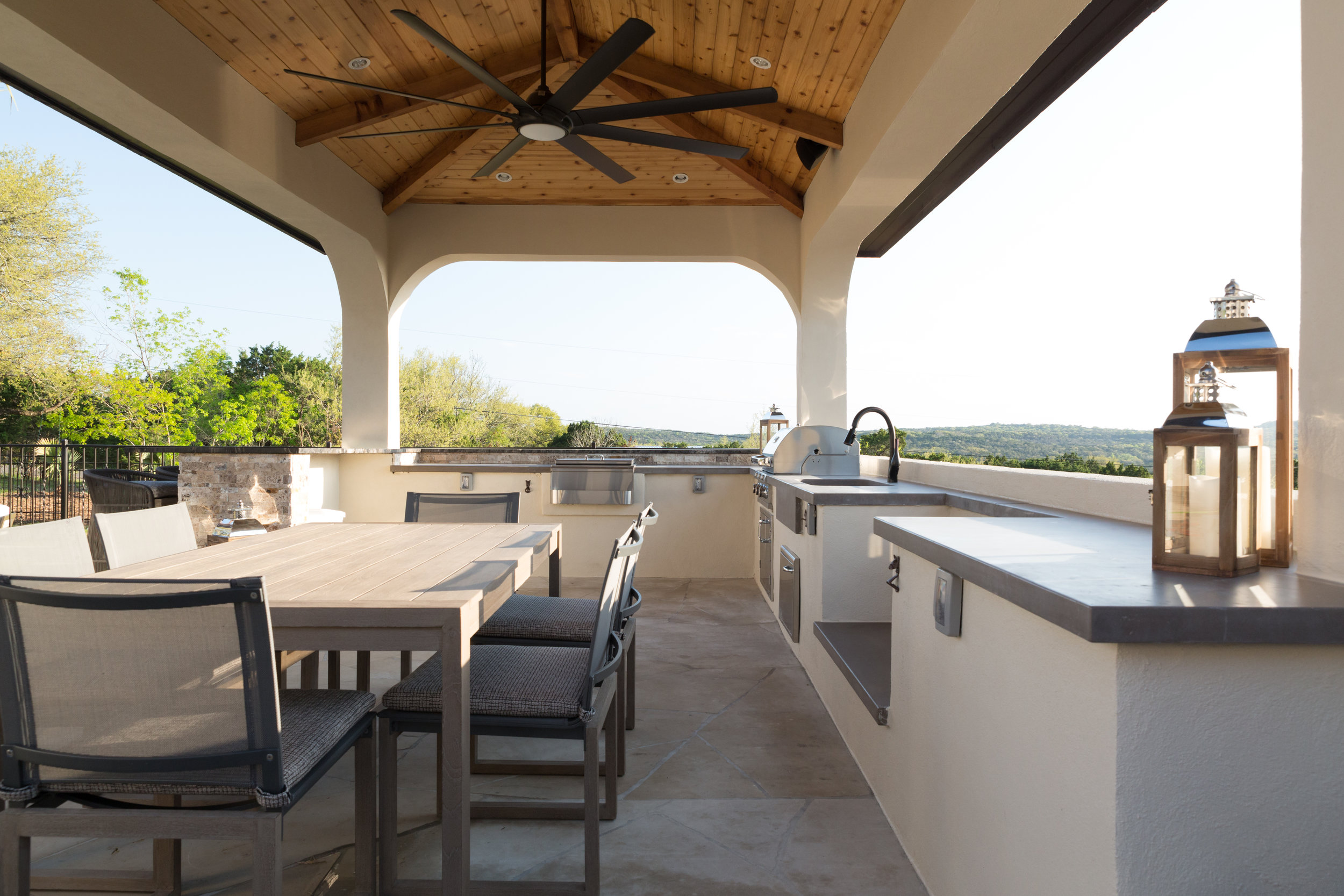 Cabana Kitchen and Table