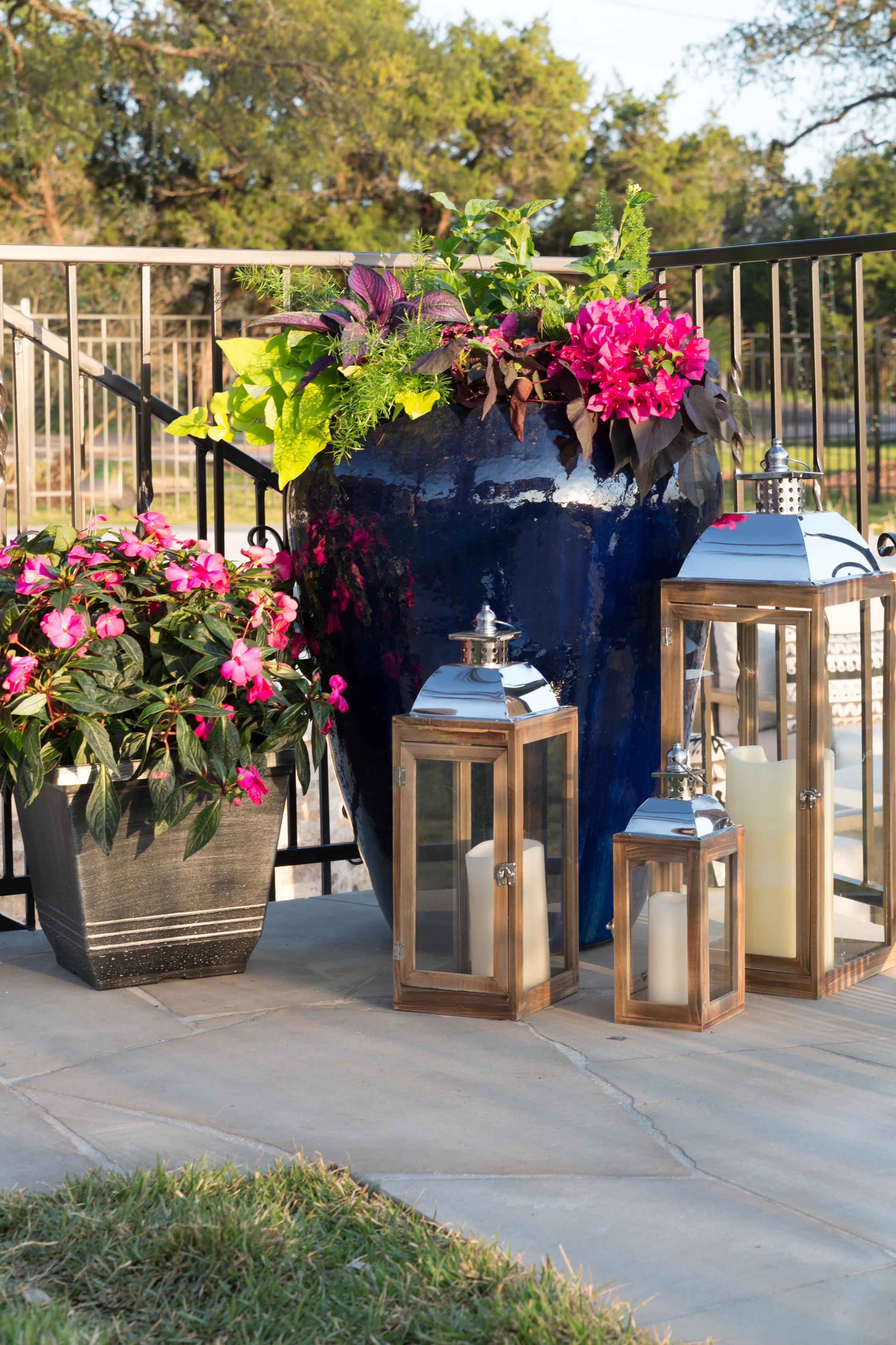 Flower Pot Arrangements