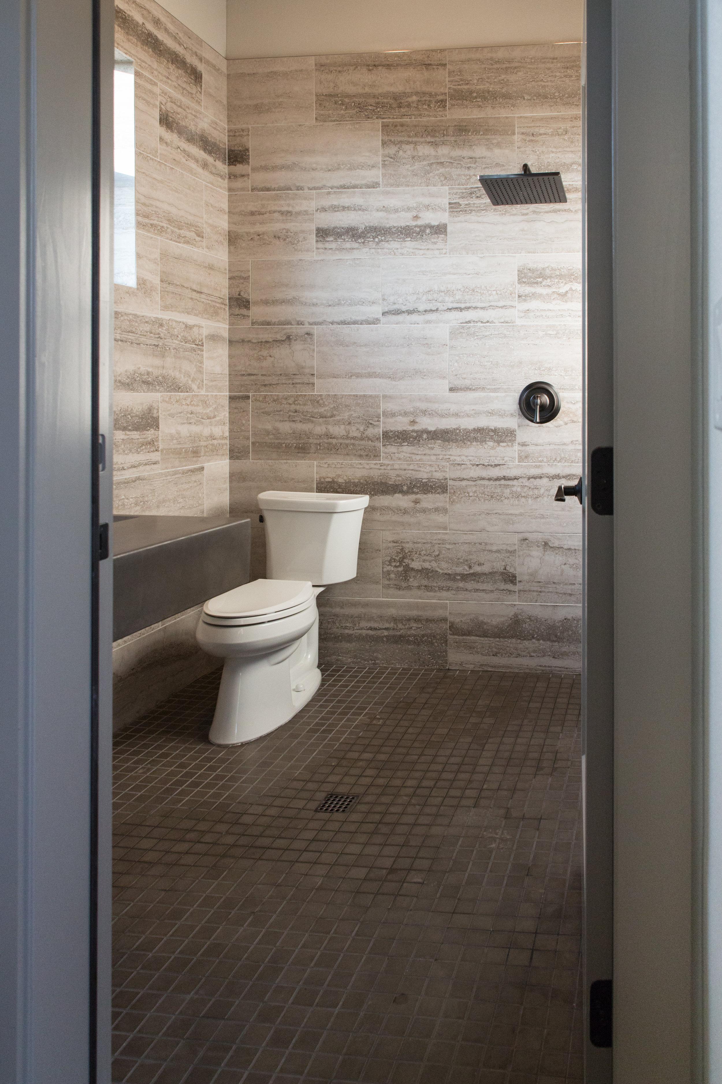 Cabana Bathroom with Shower
