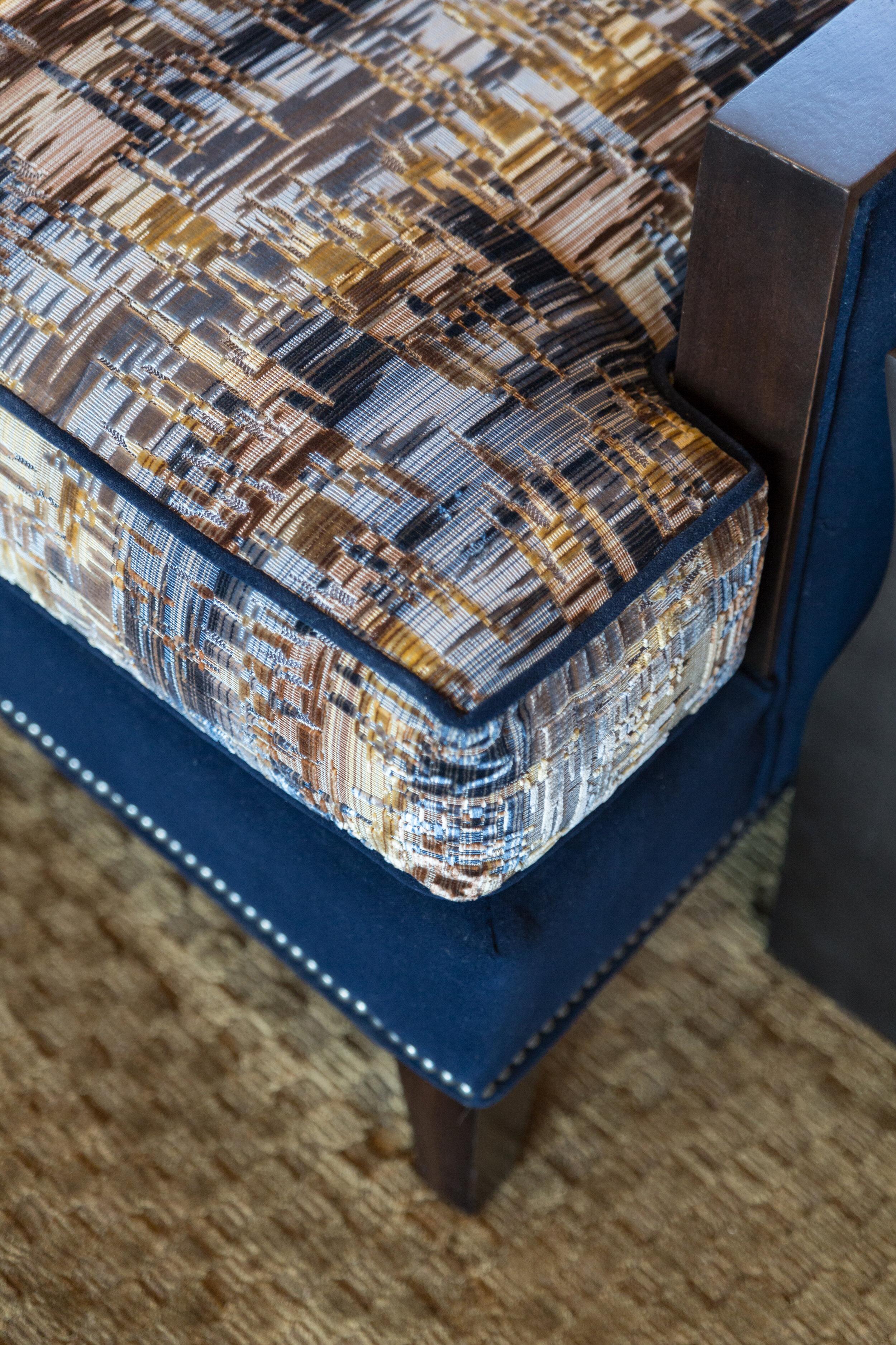 Custom living room chair