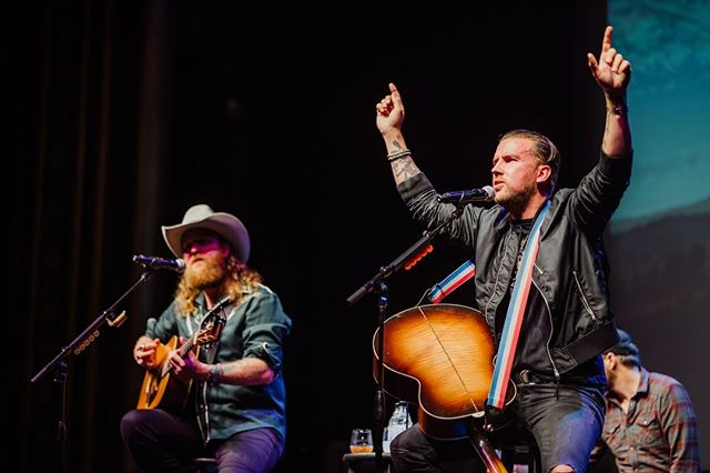 """With rich vocals, and gritty guitar, @brothersosborne had us on our feet and wanting to """"Stay a Little Longer."""""""