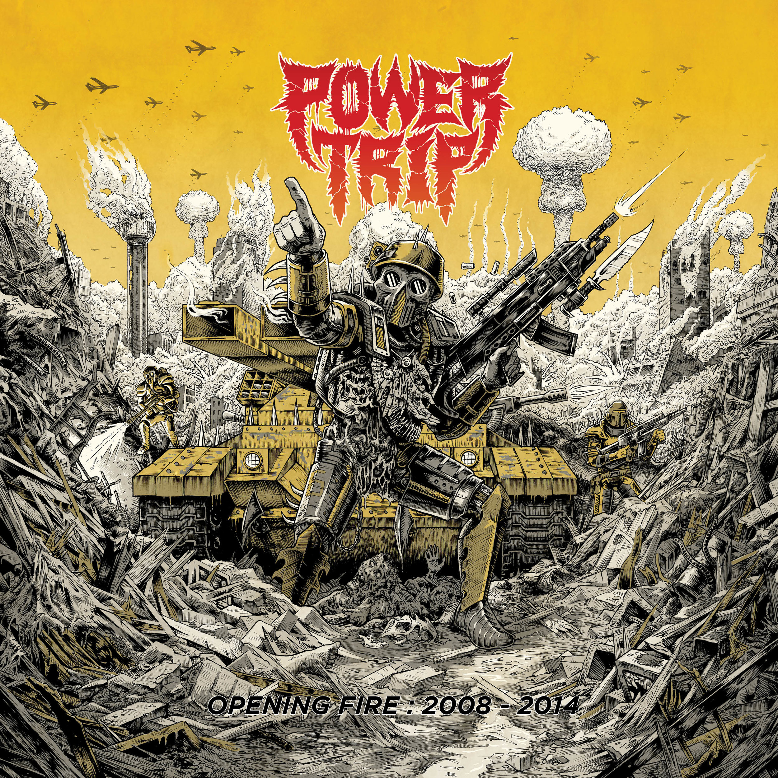 OPS011 - POWER TRIPOpening fire: 2008 - 2014 LP | CD | DIGITAL