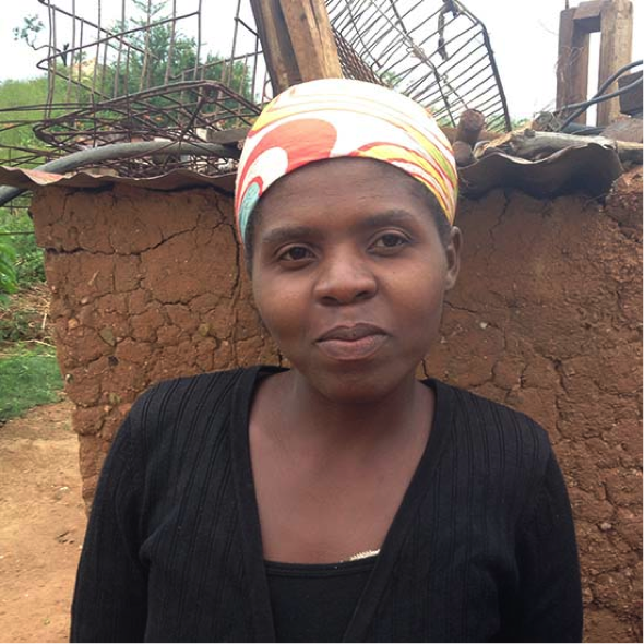 MELODY   I'm 30 years old. I'm married and have three children. I started weaving in 2013. I enjoy working with Mrs. Taylor, she has taught us a lot of skills. I'm able to look after my family because of her. My children are able to go to school, I can feed and clothe them as well.