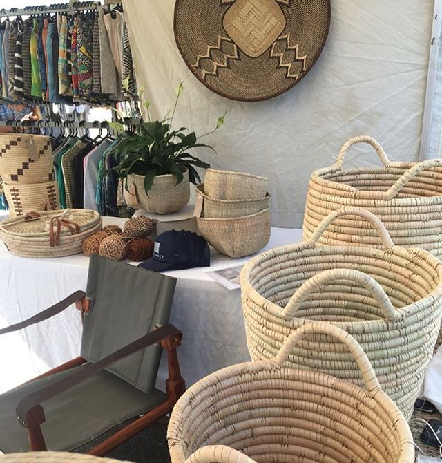 Market Day! Find us @bondimarkets today for some great offers from the African continent 🌍 . . . #bondi #bondimarkets #africabythesea #interiors #homestyling #bargains #baskets #handmade #raw #ethicallymade #homewares #featurepiece
