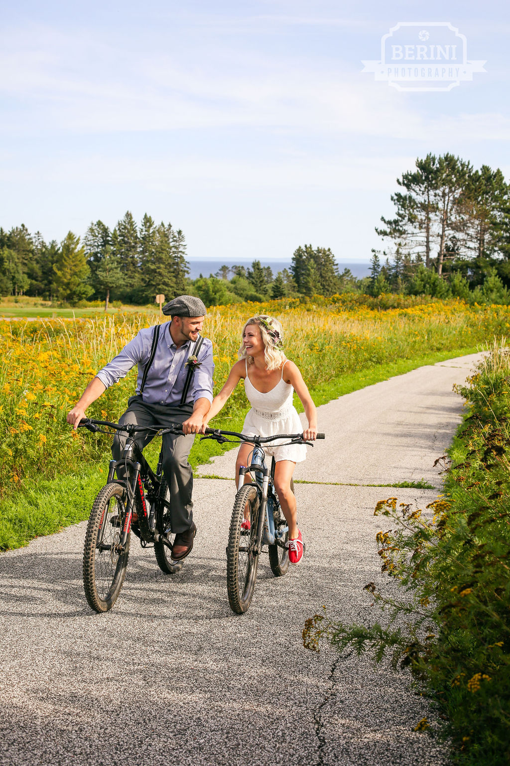 Summer Wedding on the North Shore - What activities do you want to incorporate in to your North Shore wedding? Hit the bike trails, get out on Lake Superior in a kayak, put on your hiking boots and dress and get to some of the best views. The possibilities are endless, Northern Nights is here to help you carefully make every detail speak your style.