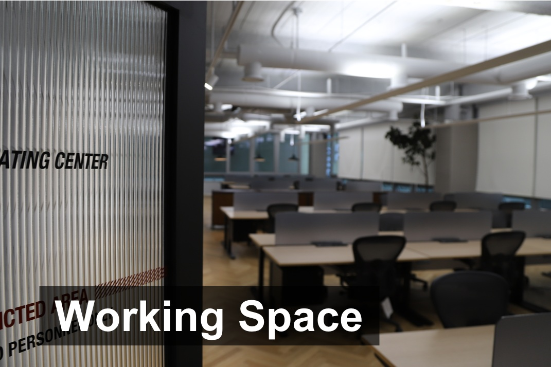 Use of the Hashed coworking space