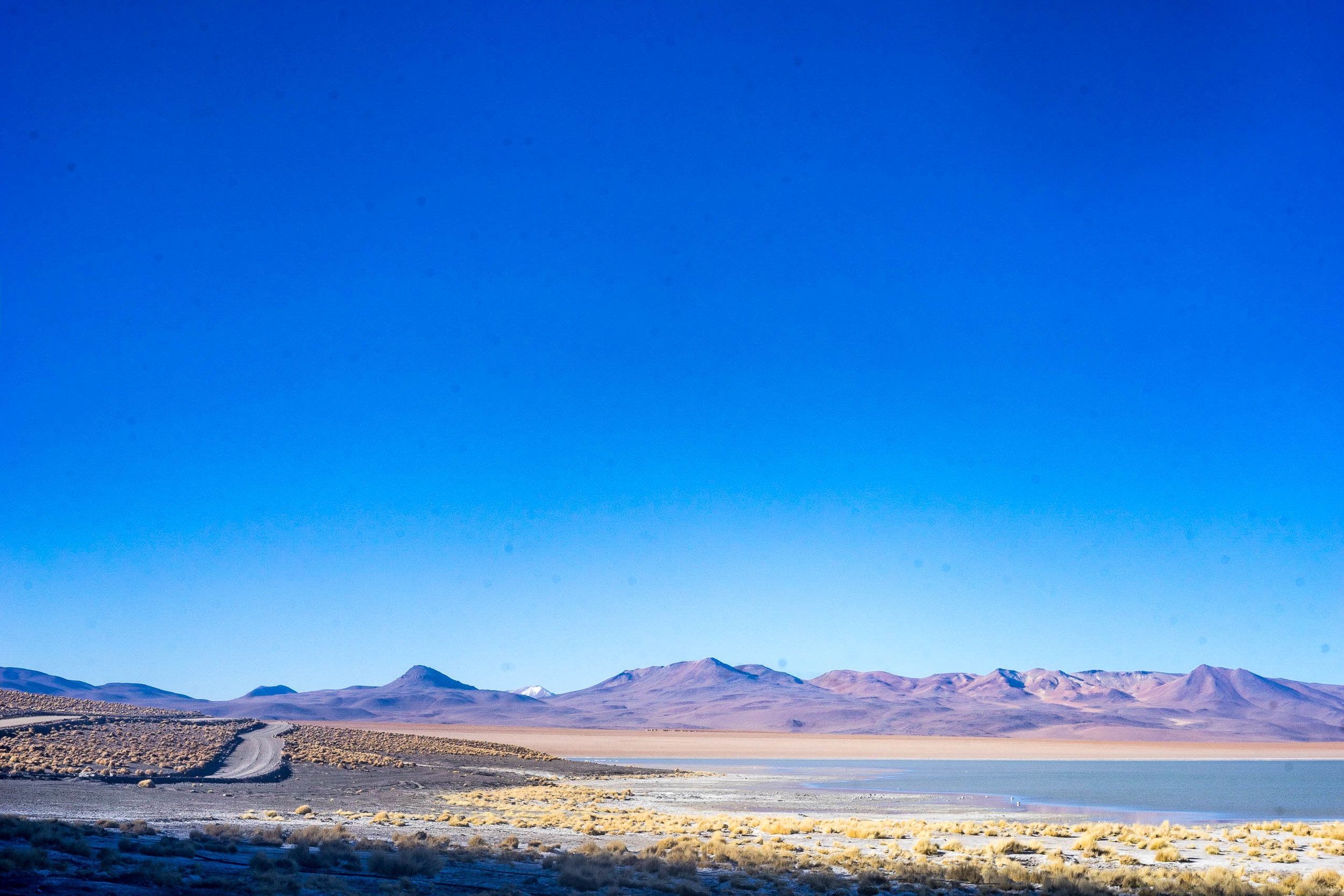 The 'road' - TO BOLIVIA