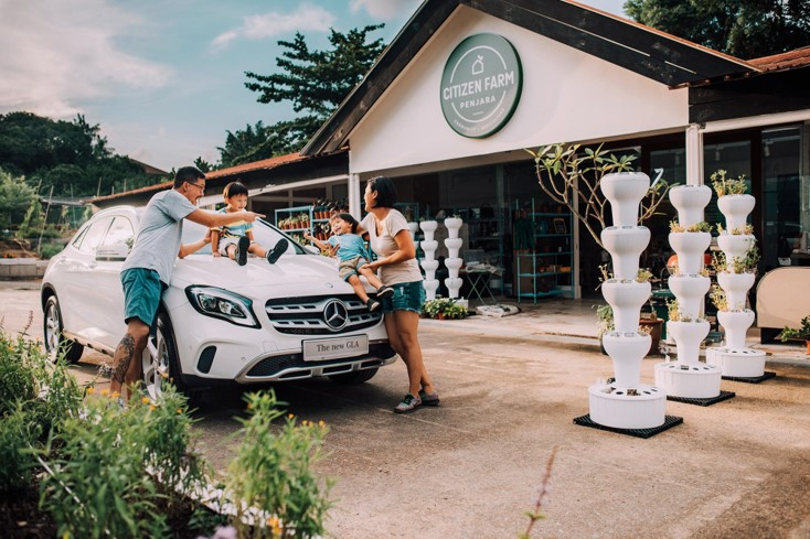 Mercedes Grow Up Campaign