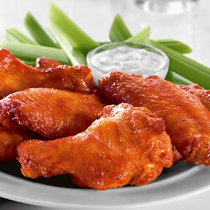 FODMAP Free Buffalo Wings / via Living FODMAP Free  Note : The recipe includes a separate super simple recipe for the Buffalo sauce that you have to follow.