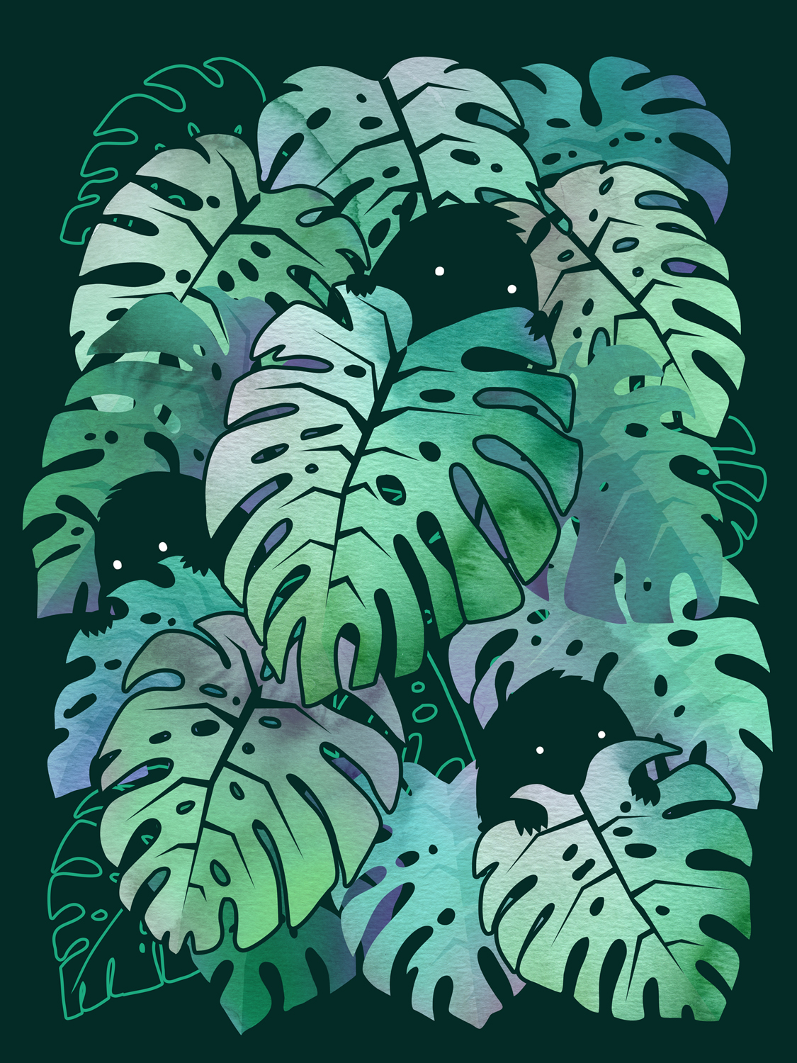 Monstera Monsters