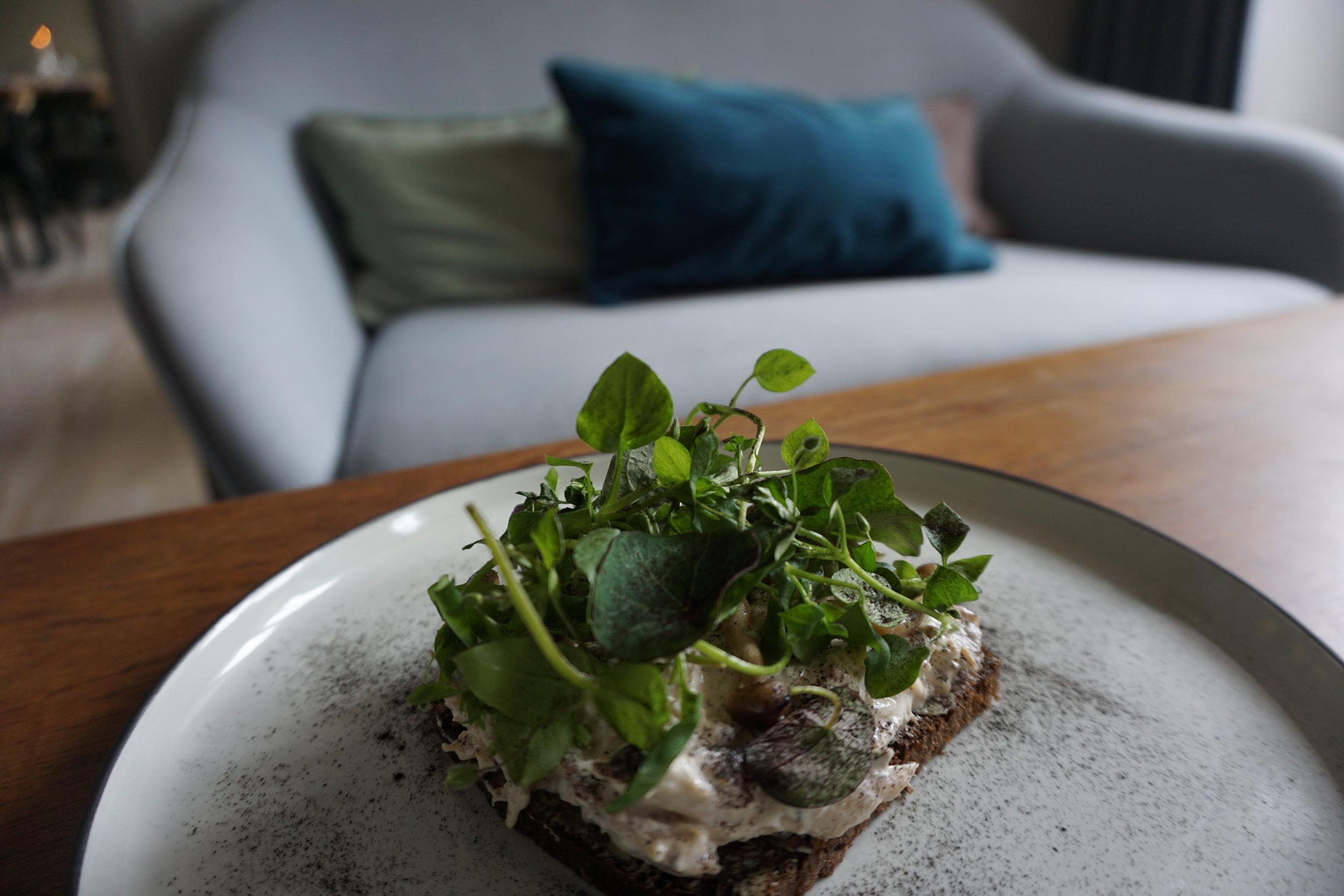 Smørrebrød i ny fortolkning hos Restaurant Kompasset.