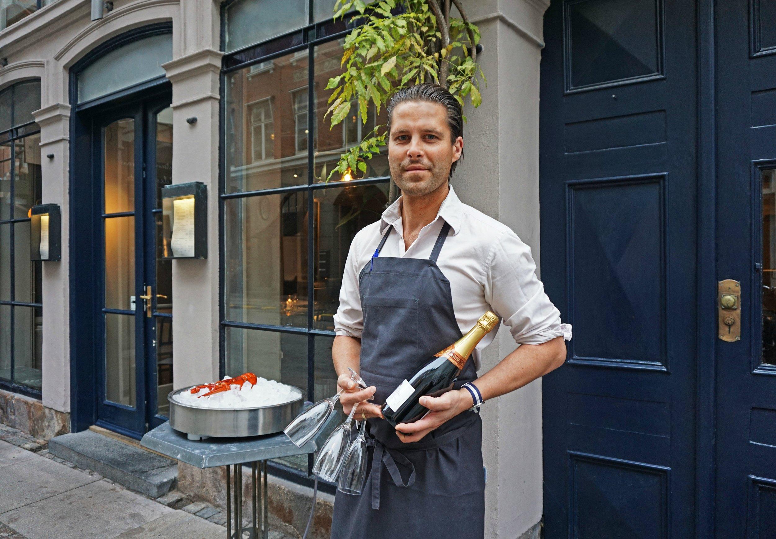 Vi er klar med Champagne, når du viser huen frem!