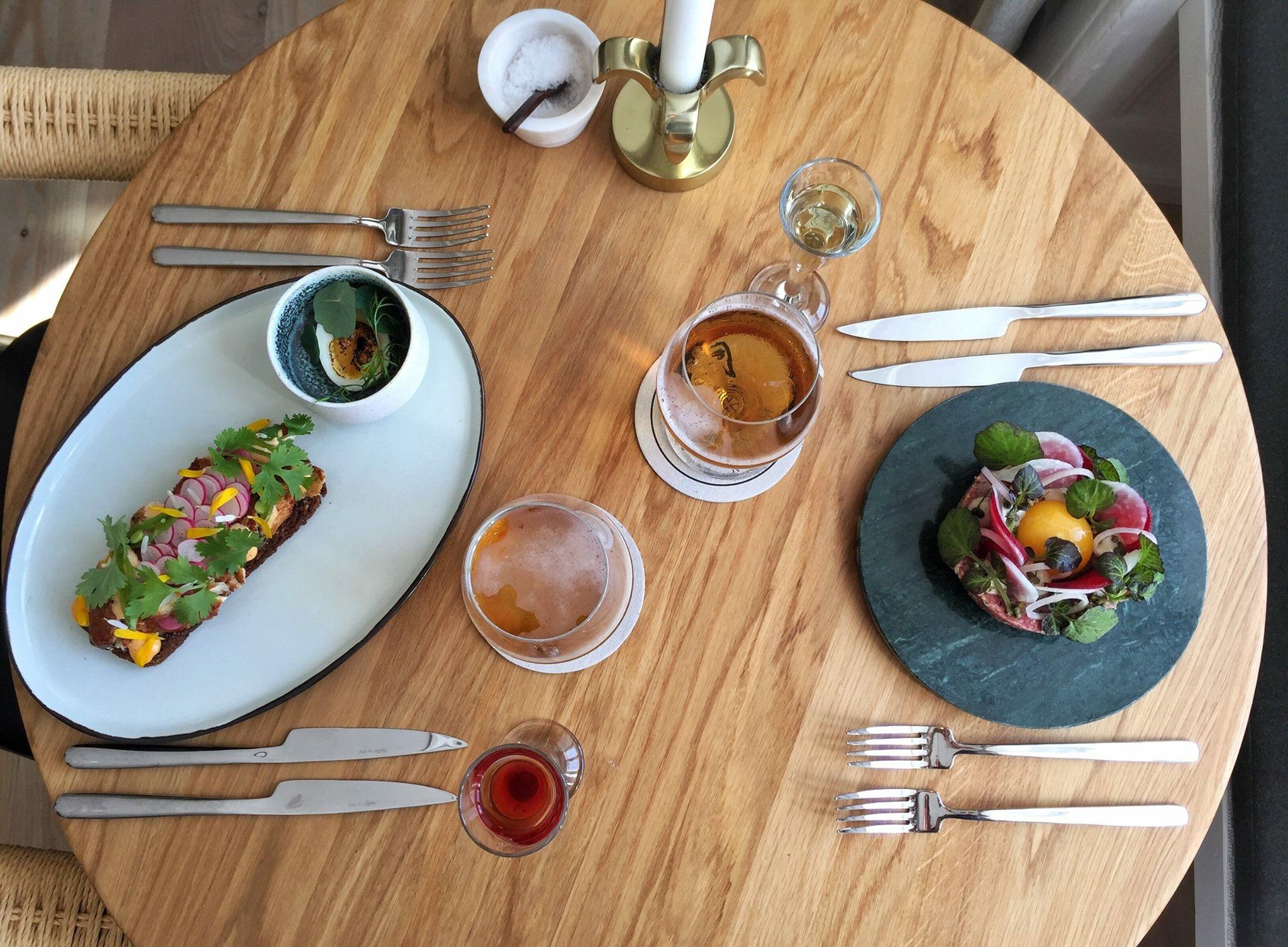Kompasset og Karma sushi i Nyhavn