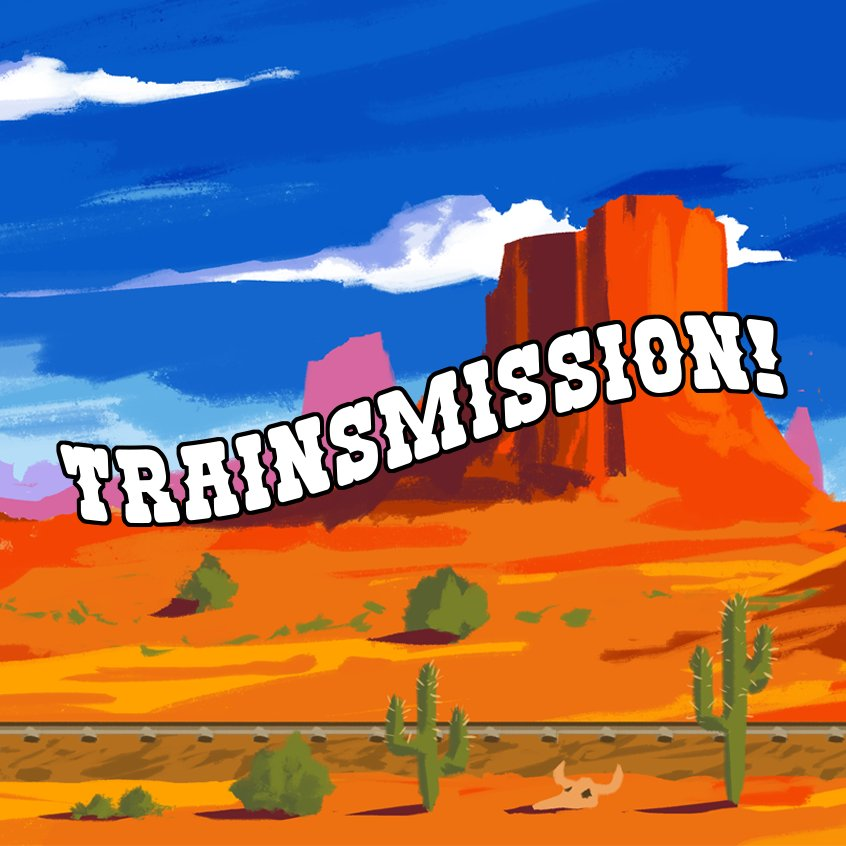 TRAINSMISSION - Created in 48 hours at Pigquad Global Game Jam 2018 in Portland, Oregon. I wrote the main theme and most of the sound effects.The theme of the game is Transmission - Secret messages pass between the player and people in a boxcar train. Your goal is to solve the murder mystery and apprehend the suspect.Musically, symbolic gestures to the Old West include a rolling snare drum and church bell with the iconic whistle. A string quartet create additional atmosphere and synth leads soar together in harmony.