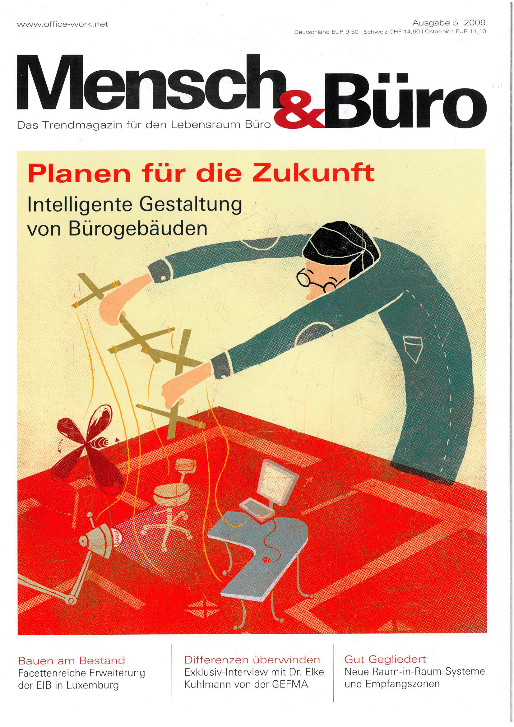 Mensch und Büro 5/ 2009