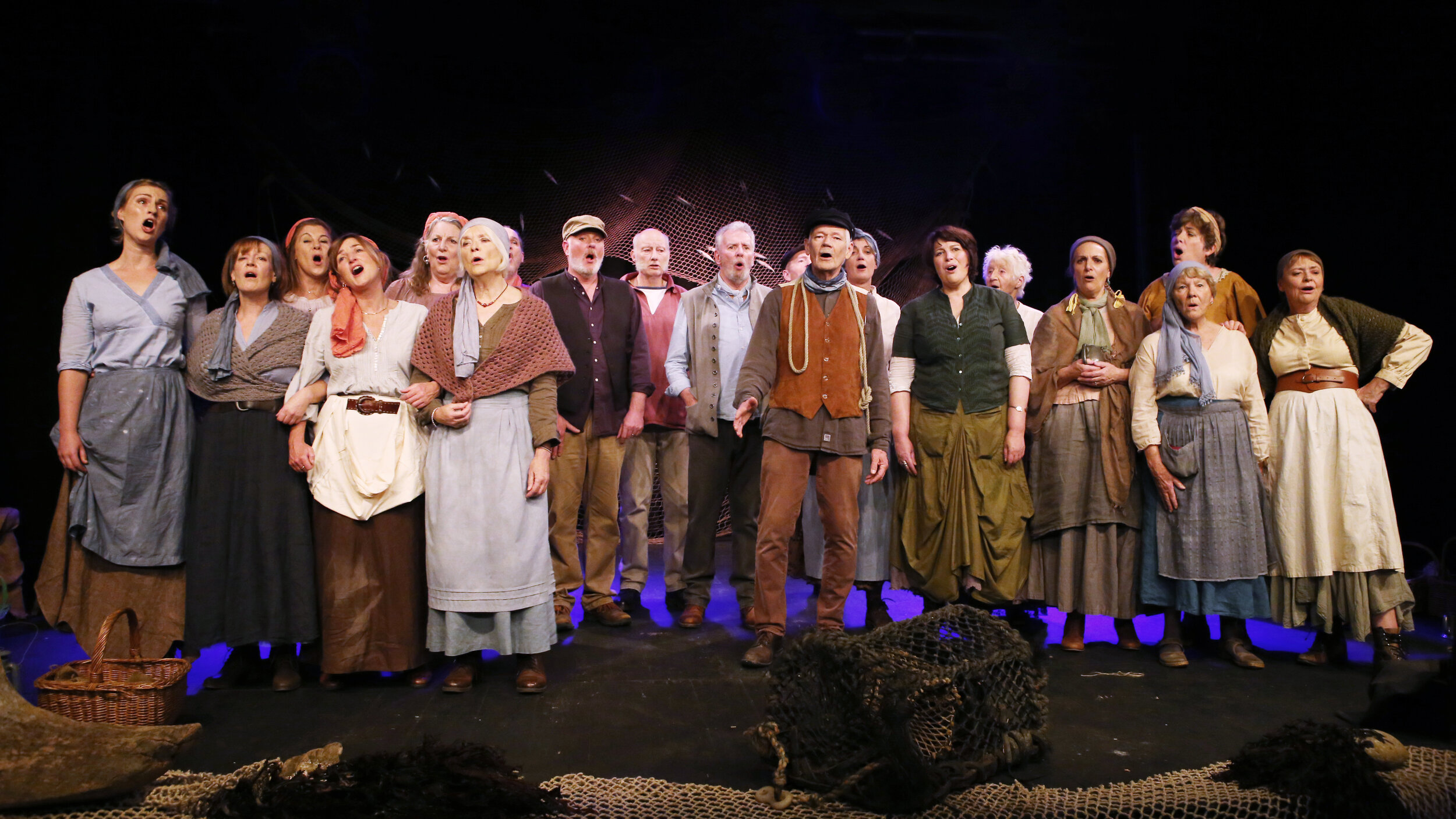 'Rolling Home' Marine Theatre Lyme and Royal Manor Theatre Portland 2019