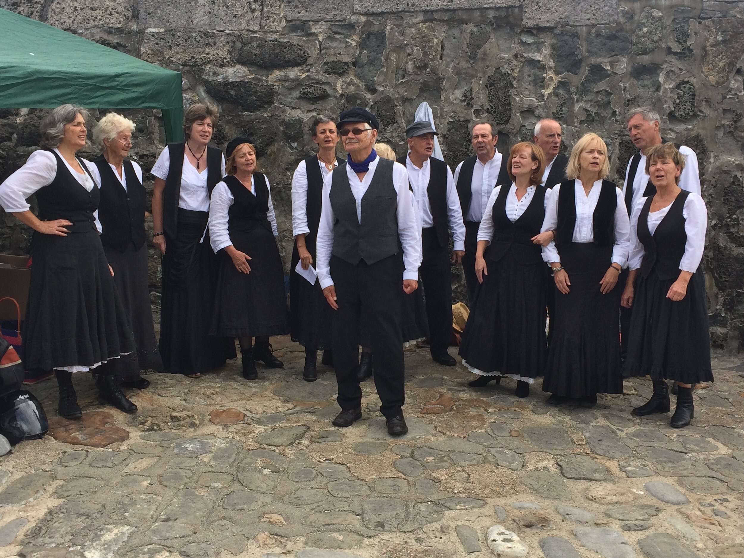 Supporting the Lyme Regis Gig Club Aug 2017