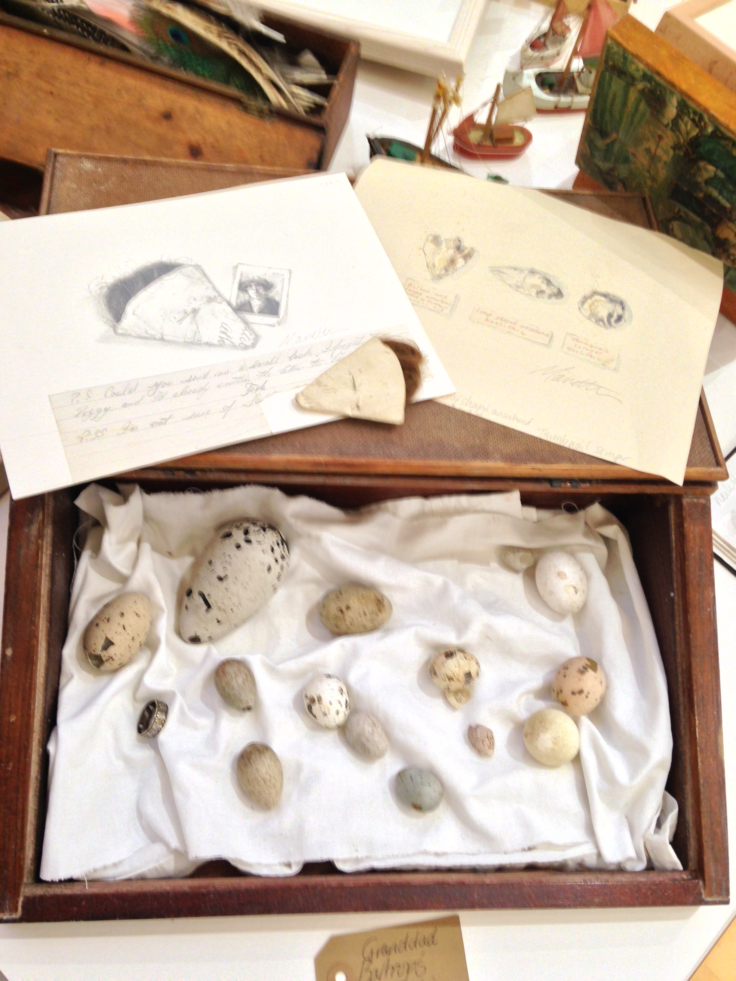 Collections and sketches.