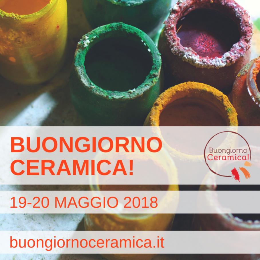"""COLLECTIVE exhibition """"BUONGIORNO CERAMICA"""" 2018 - MAY 19—20, 2018COURTYARD OF PALAZZO DEI CAPITANI DEL POPOLO · ASCOLI PICENOLEARN MORE"""