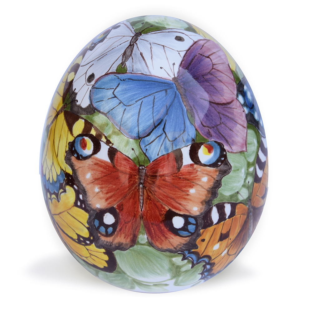 Decorative egg – Measurements: cm. … x – High-fire (920°C)