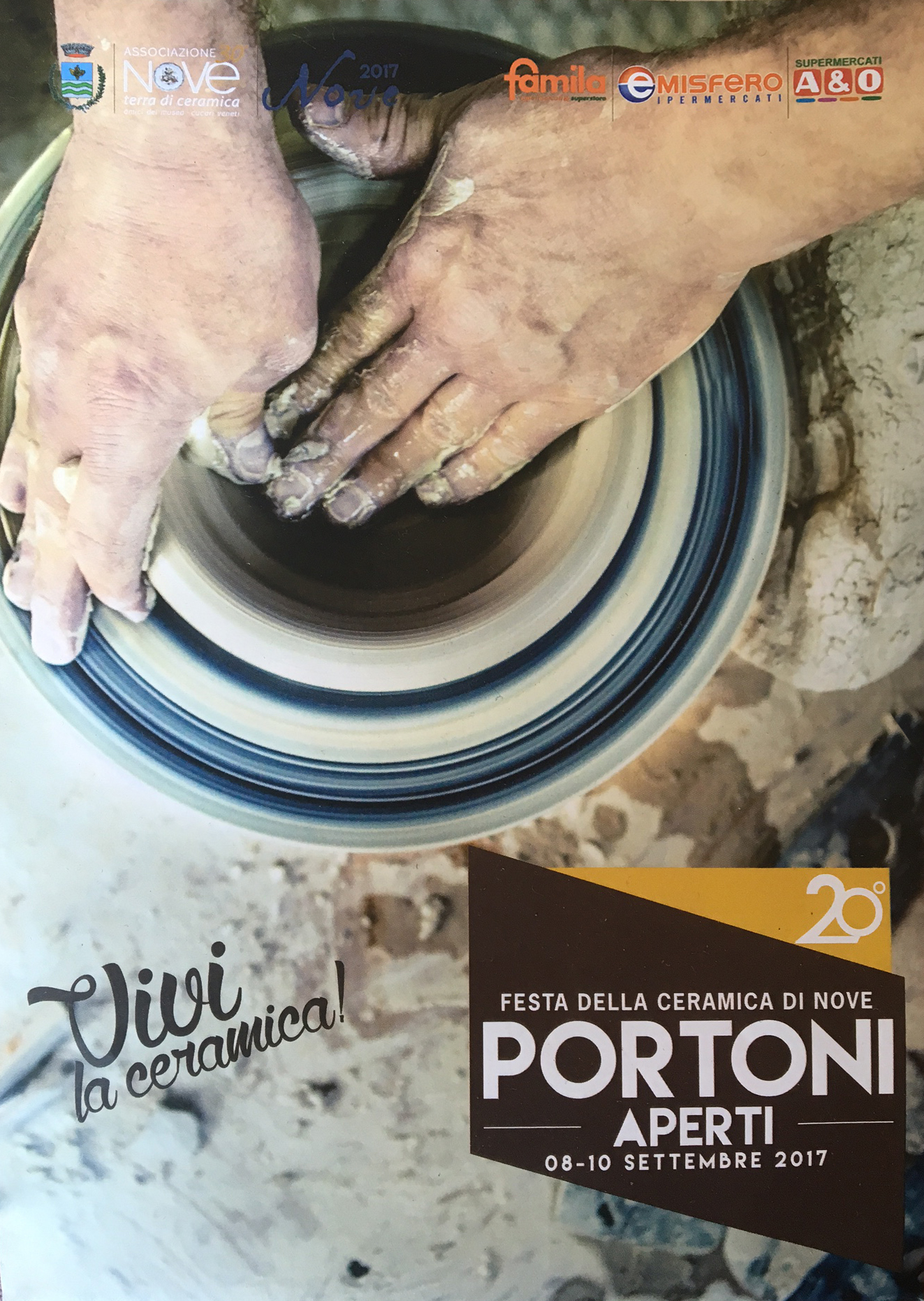 PORTONI APERTI (Open Doors) - CERAMIC FESTIVALOF NOVE · XX EDITIONSEPTEMBER 8—10, 2017 NOVE (VI)READ OUR BLOG