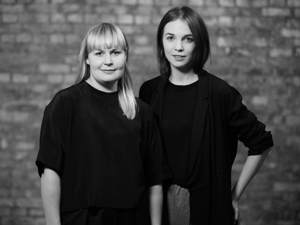 Julia Björnberg och Ellen Suneson