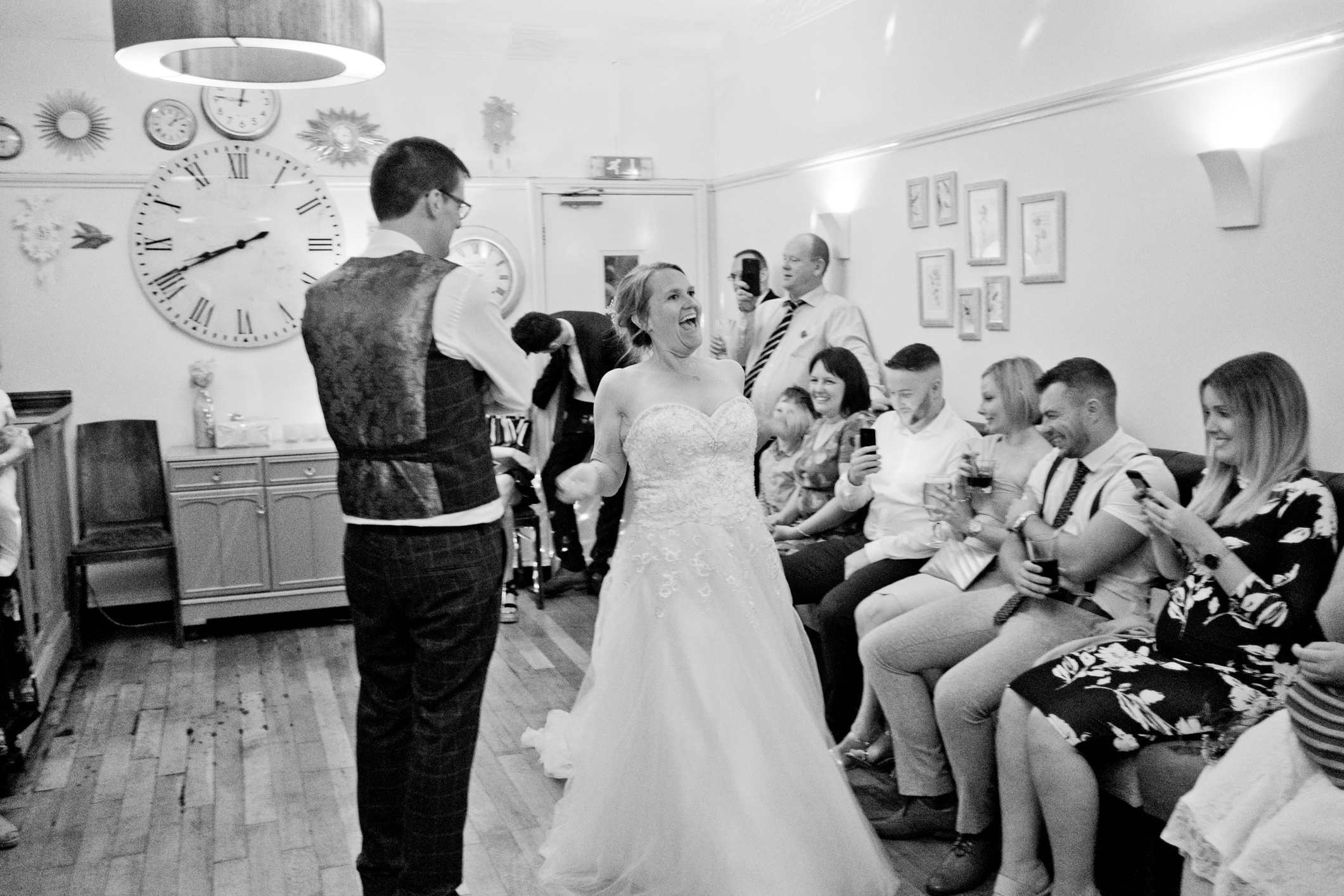 The first dance of Katy and Duncan. Choreographed professionally it was certainly good to watch.