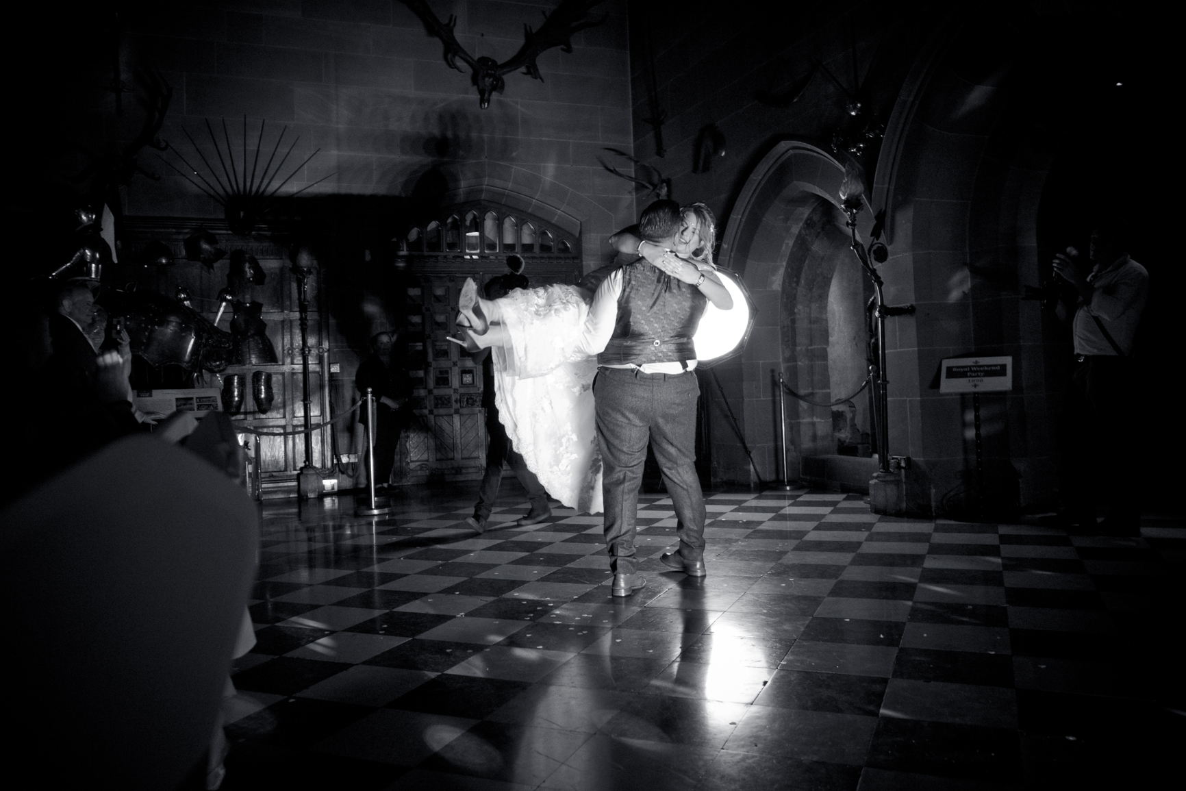 First Dance at Warwick castle.