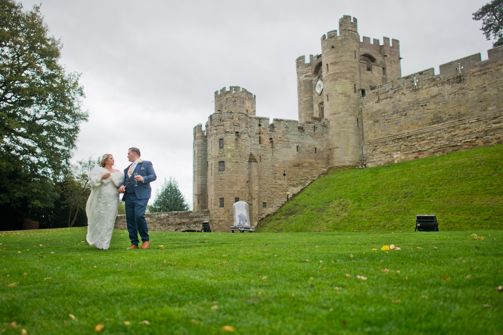 We stepped beyond the castle proper to take photos in the grounds. With so many backdrops we were very spoilt for choice.