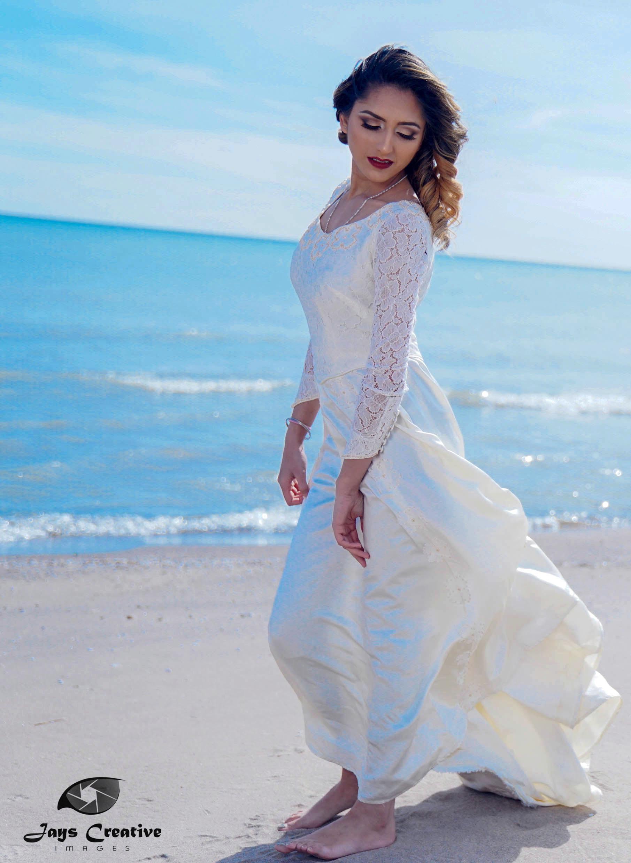 Bridal Portrait @ Brimley Beach, Scarborough Bluffs. - Model : Rupinder Sandhu