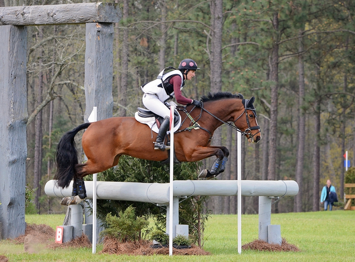 Kristen Bond & Enough Already, 2008 KWPN gelding (Jenny Autry photo)