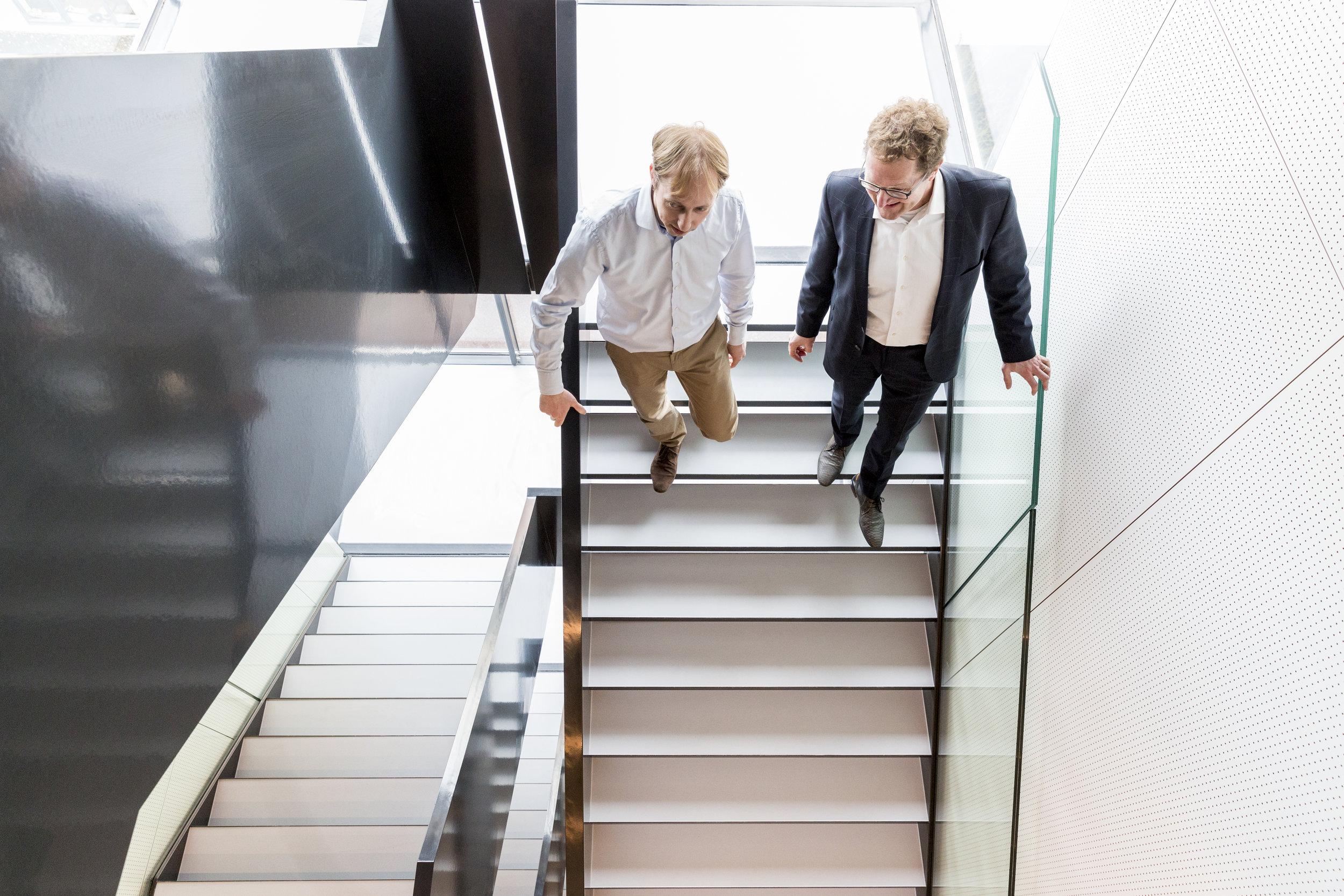 René & Jaap (for Houdbaar, client: Witteveen+Bos)