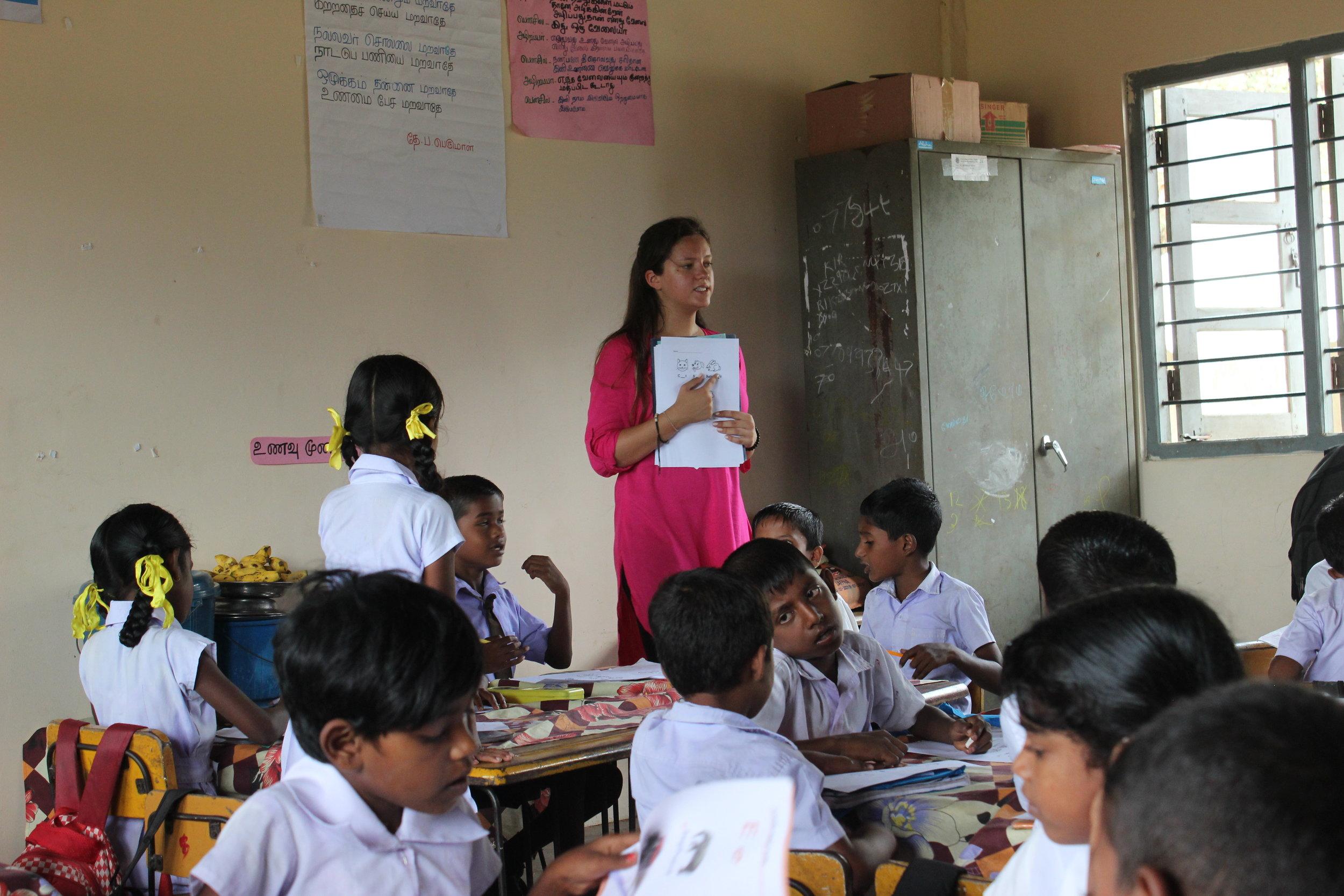Talya teaching standing.JPG