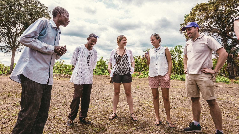 Project visit to Sanda Magbalantor, Sierra Leone